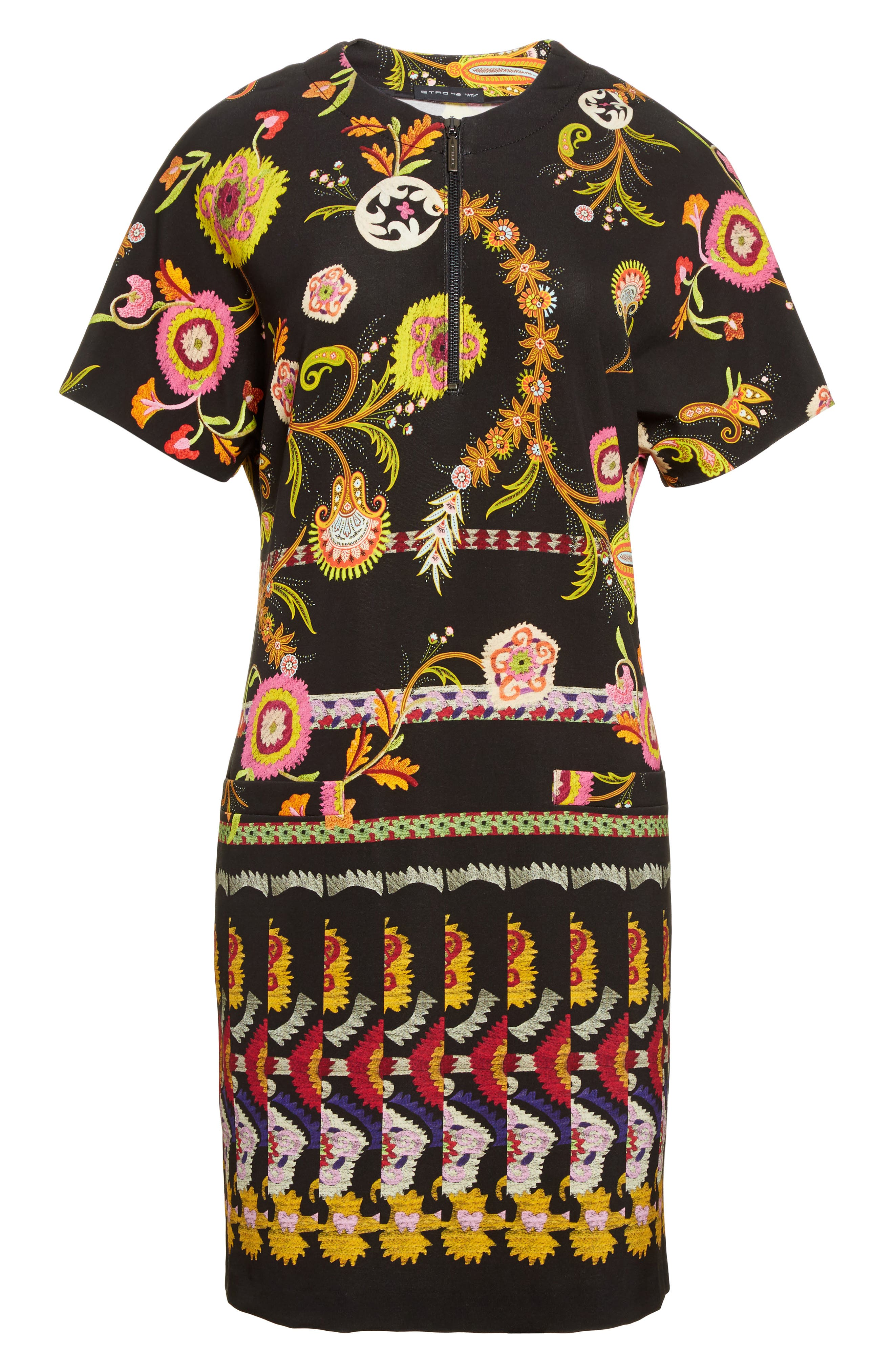 Alternate Image 4  - Etro Floral & Paisley Jersey Dress