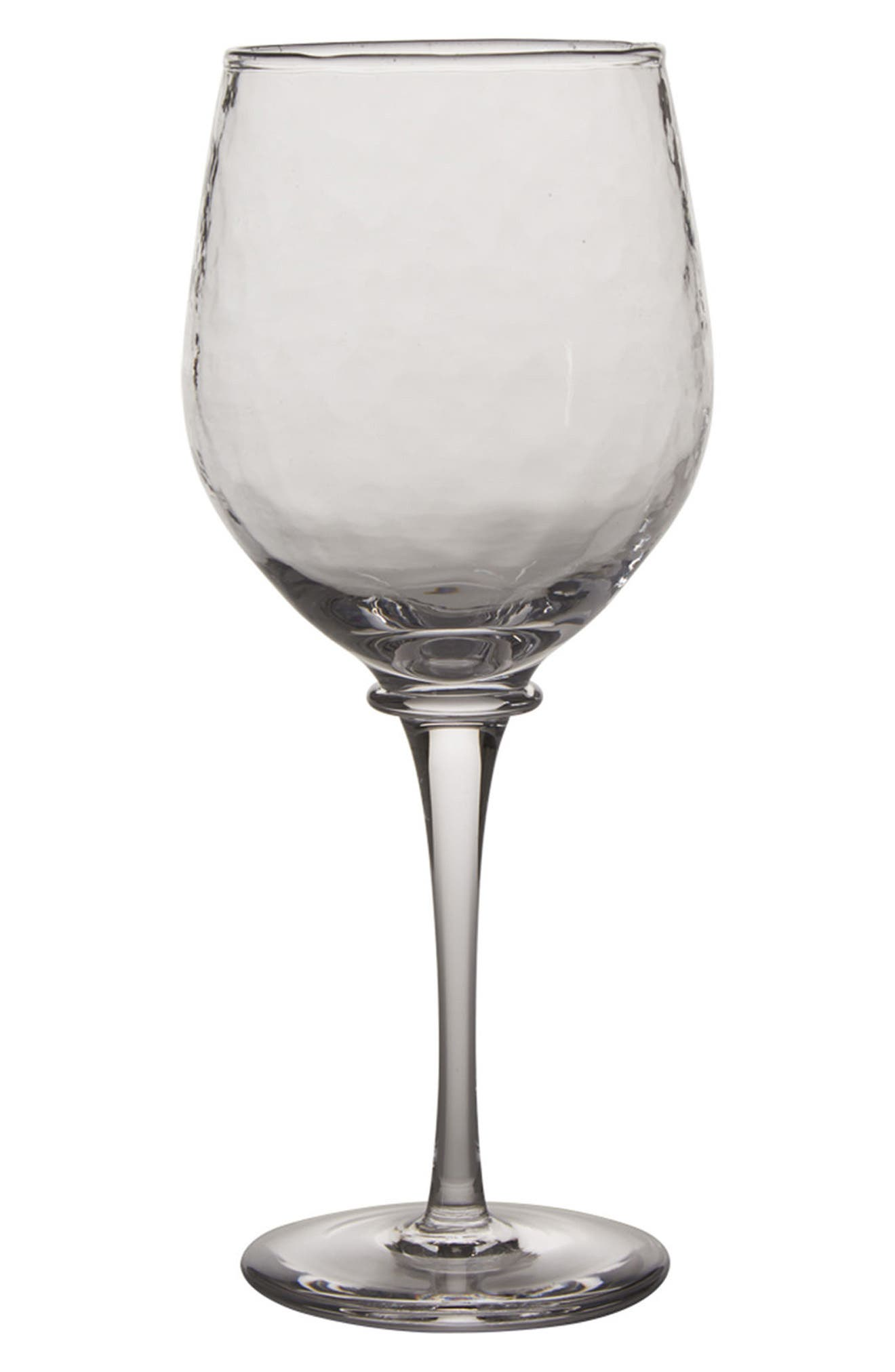 Carine Red Wine Goblet,                         Main,                         color, Clear
