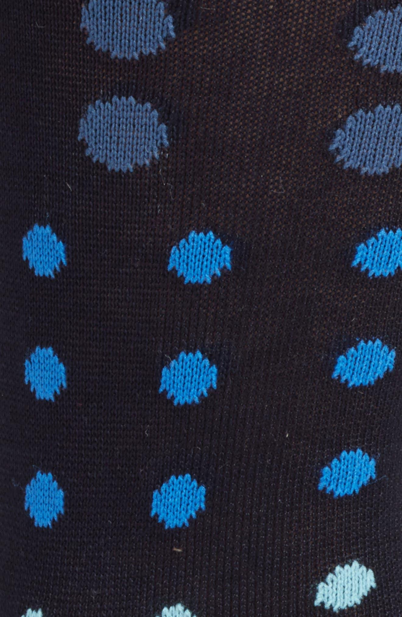 Alternate Image 2  - Paul Smith Gradient Spot Crew Socks
