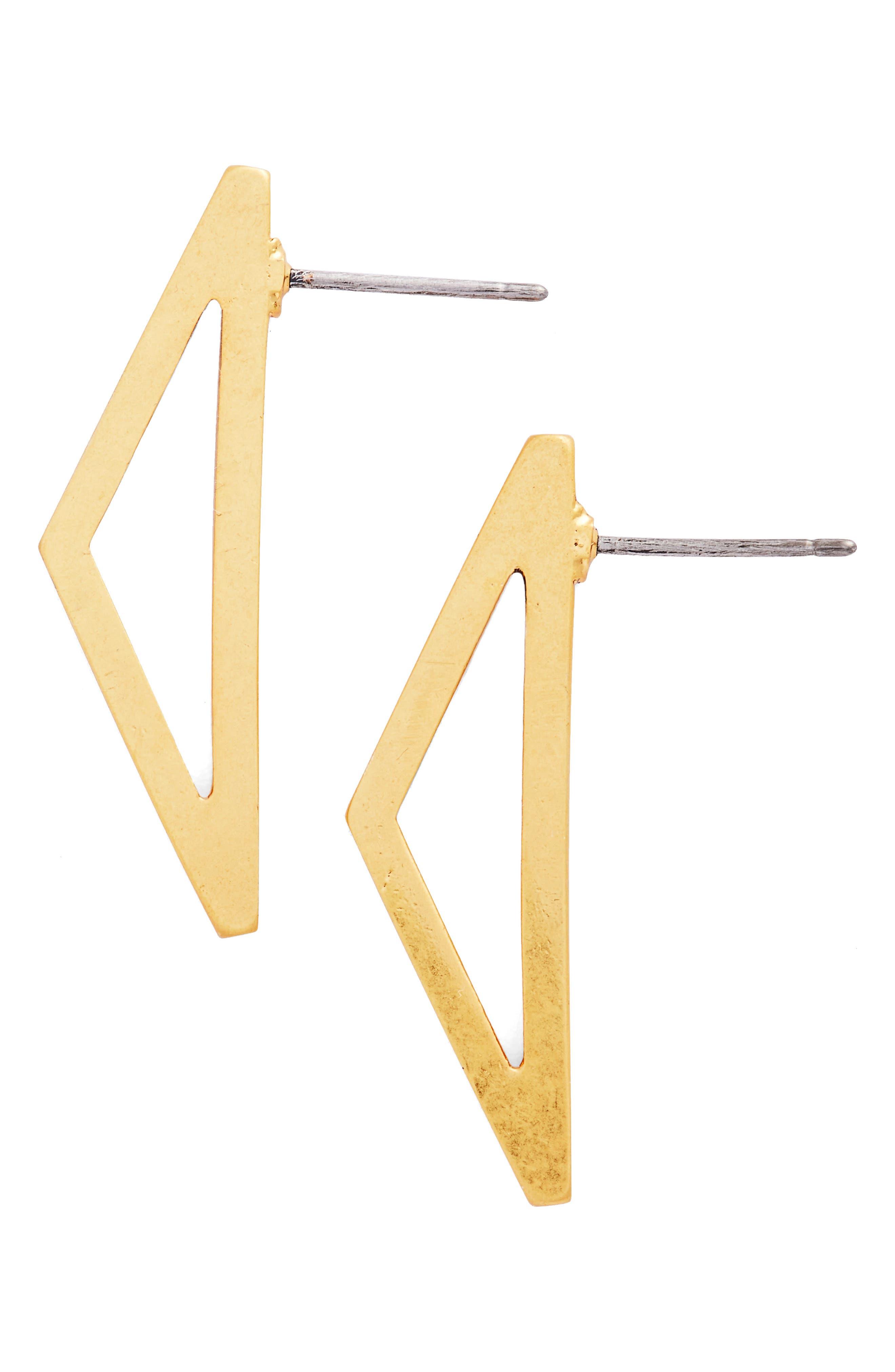 Alternate Image 1 Selected - Madewell Outline Drop Earrings