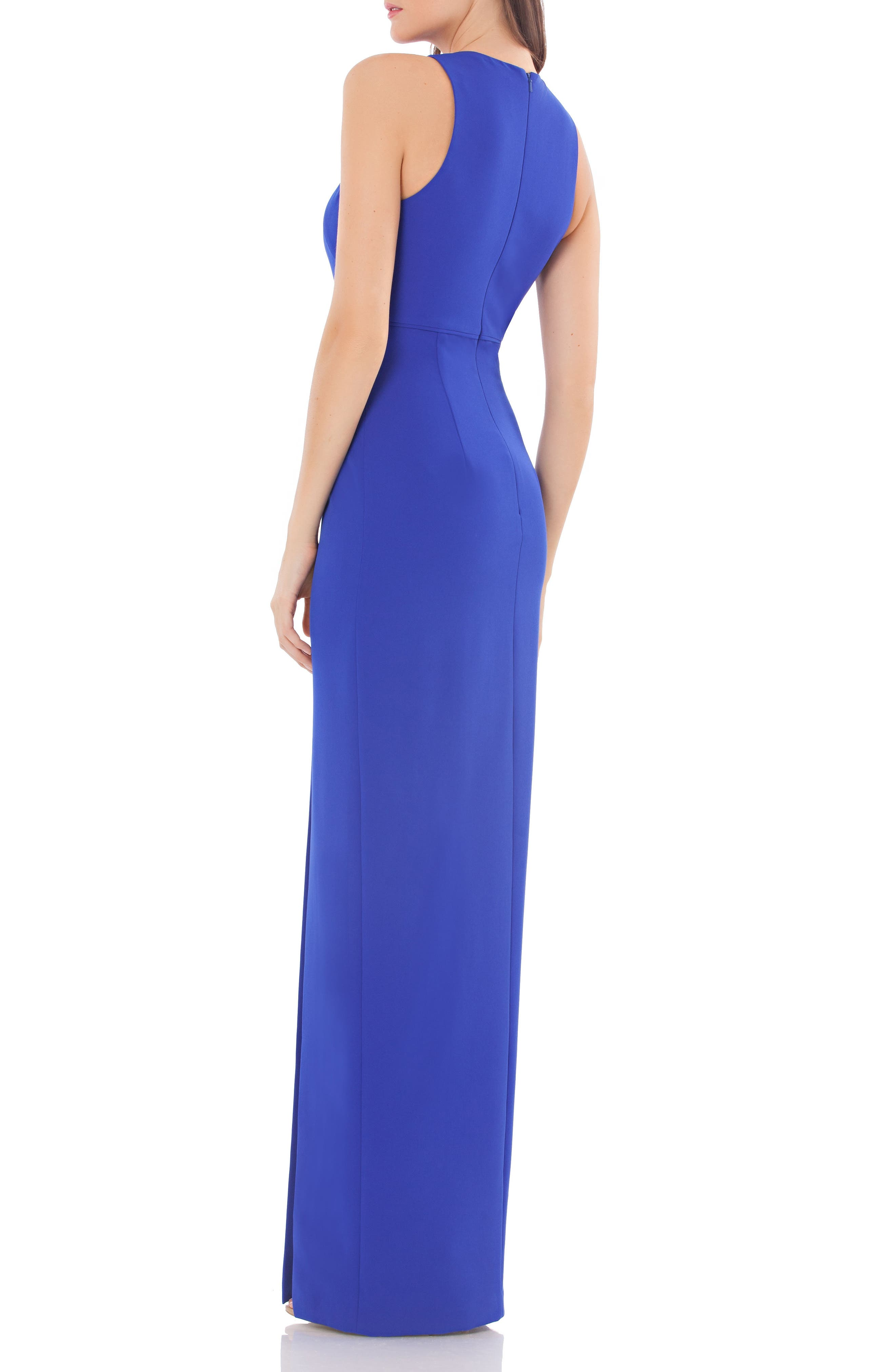 Alternate Image 2  - JS Collections Cutout Empire Waist Column Gown
