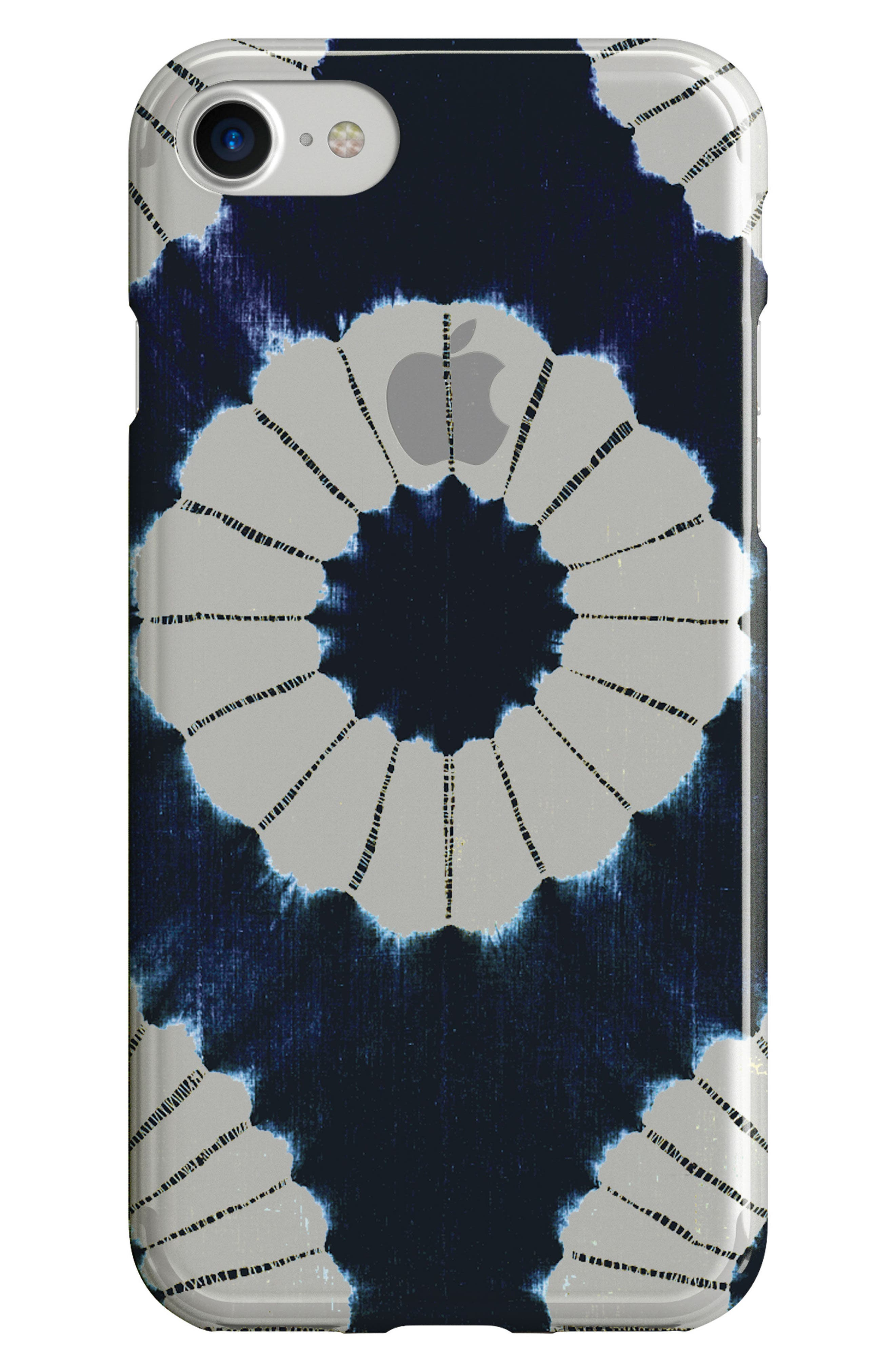 Indigo iPhone 6/6s/7/8 Case,                             Main thumbnail 1, color,                             Blue
