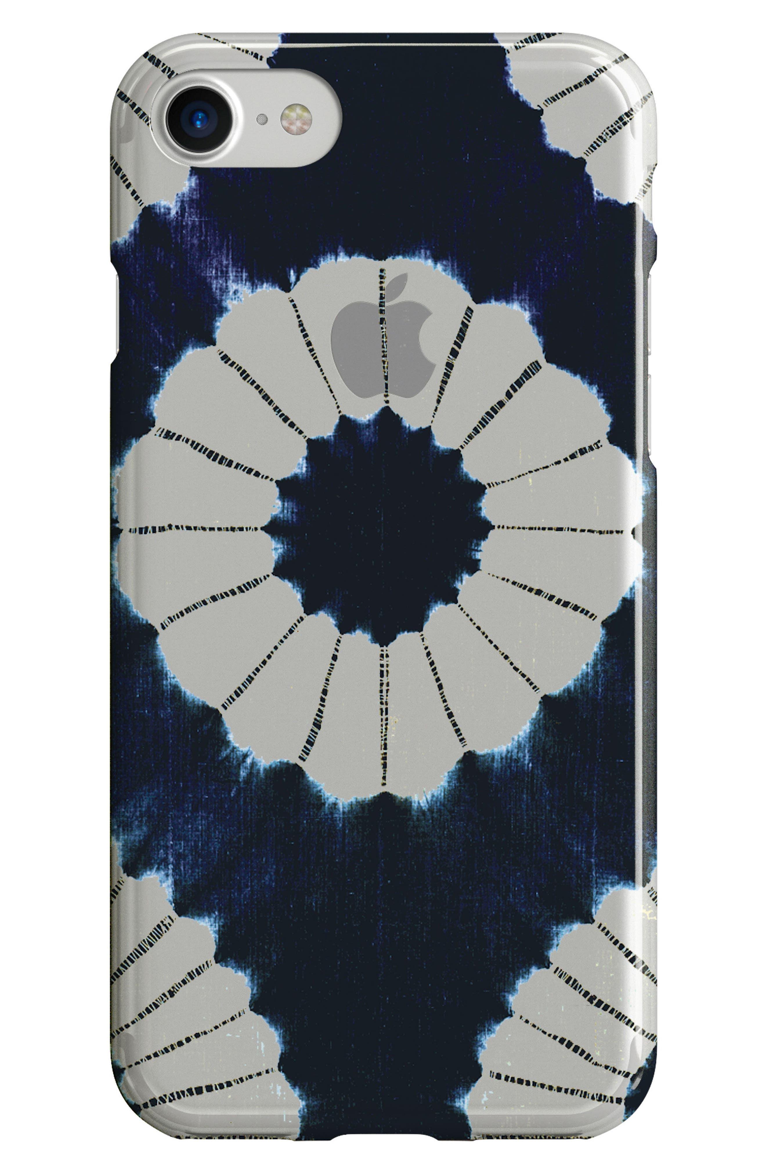 Indigo iPhone 6/6s/7/8 Case,                         Main,                         color, Blue