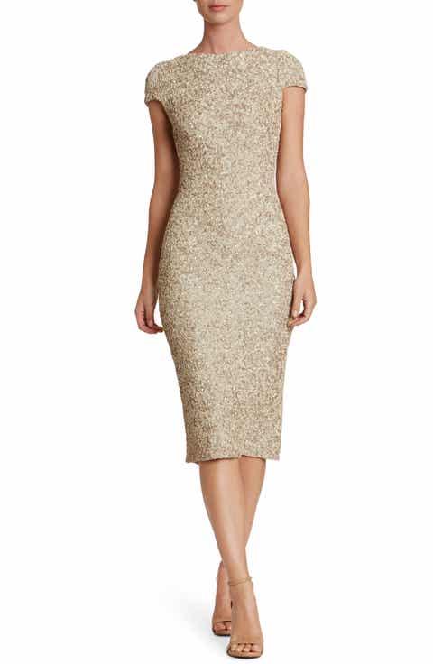 Dress The Population Marcella Sequin Midi