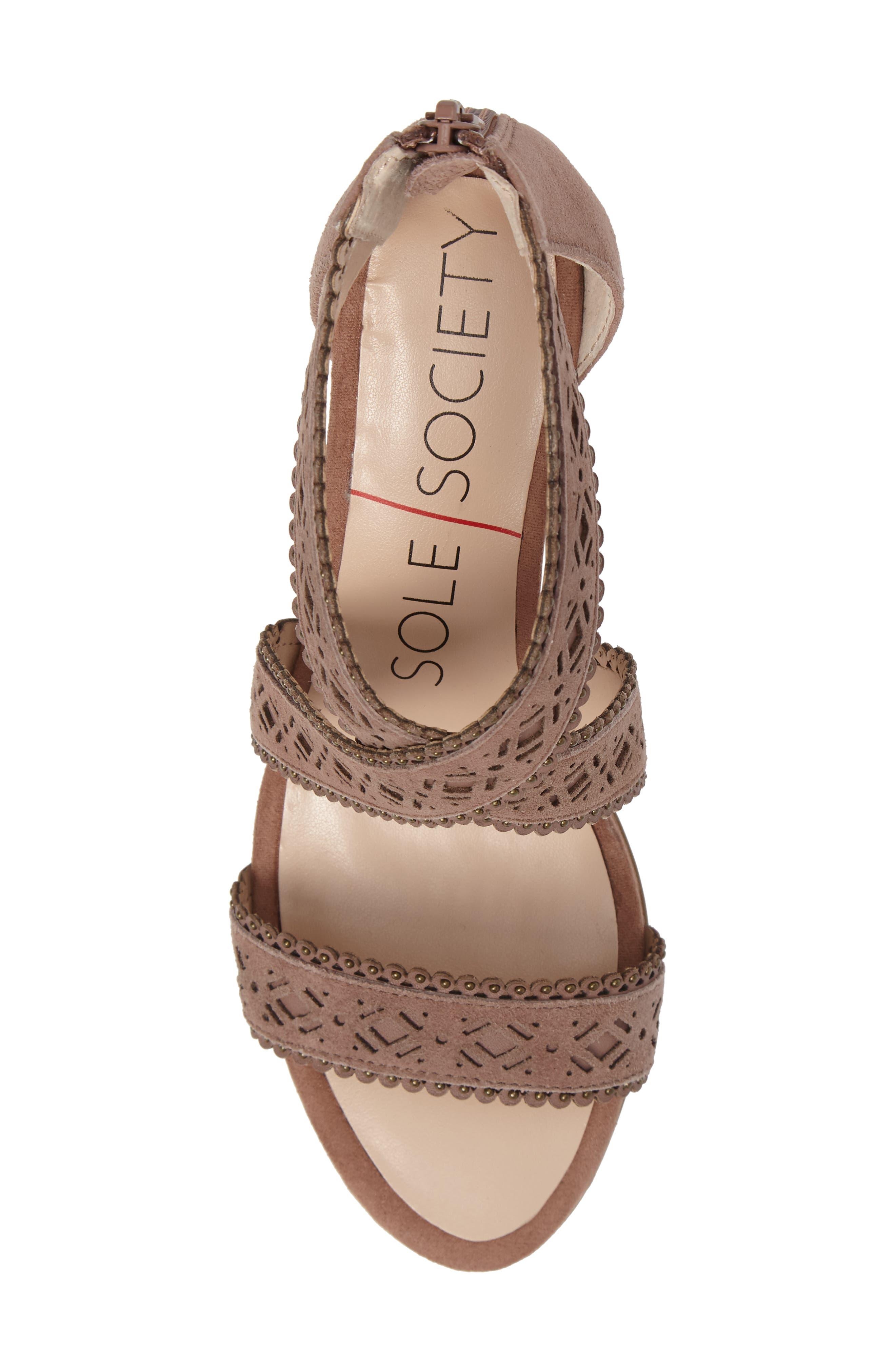 Alternate Image 5  - Sole Society Sandal (Women)