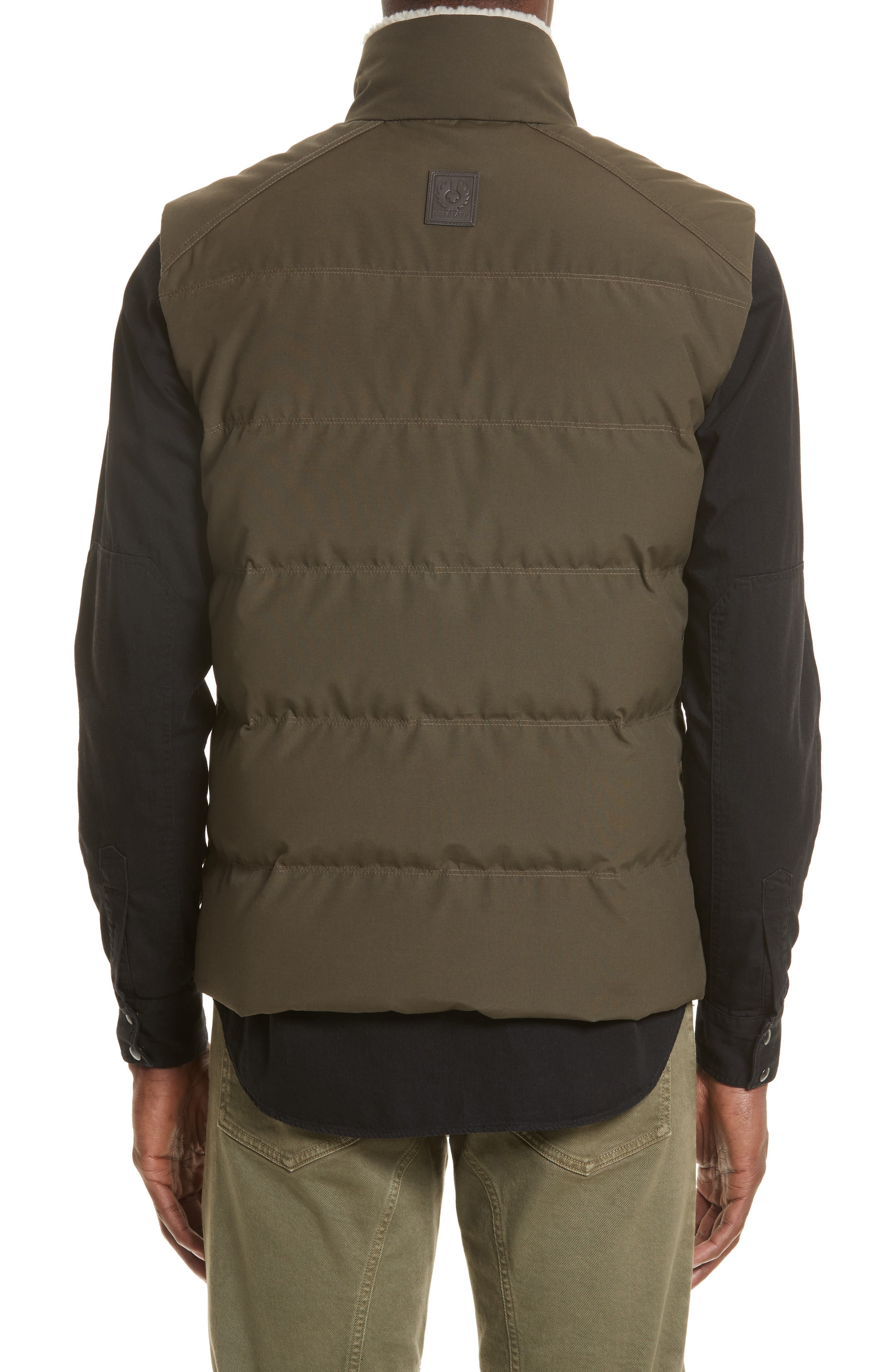 Fyfield Quilted Vest,                             Alternate thumbnail 2, color,                             Military Green