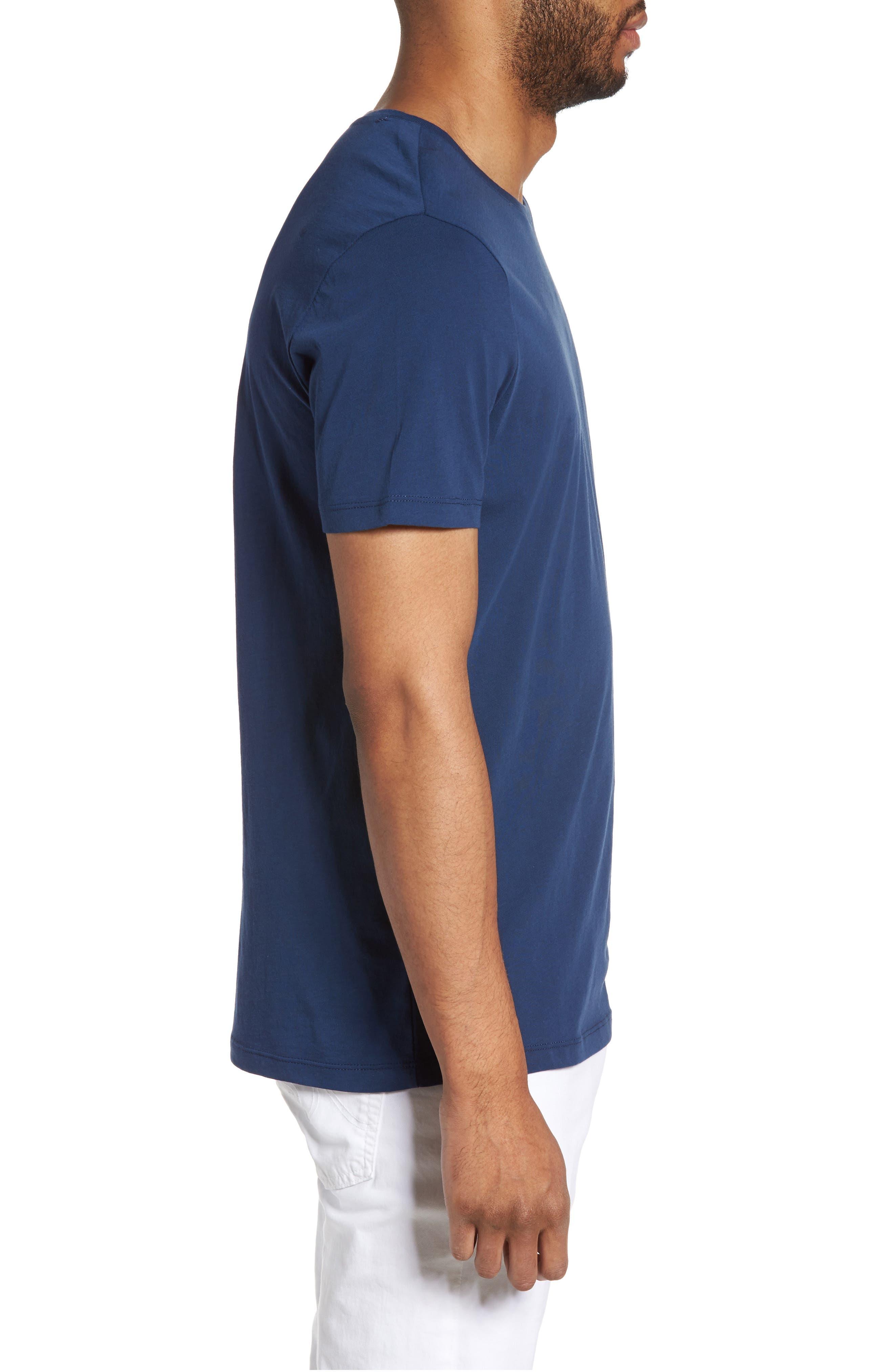 Alternate Image 3  - Slate & Stone Slim Crewneck T-Shirt