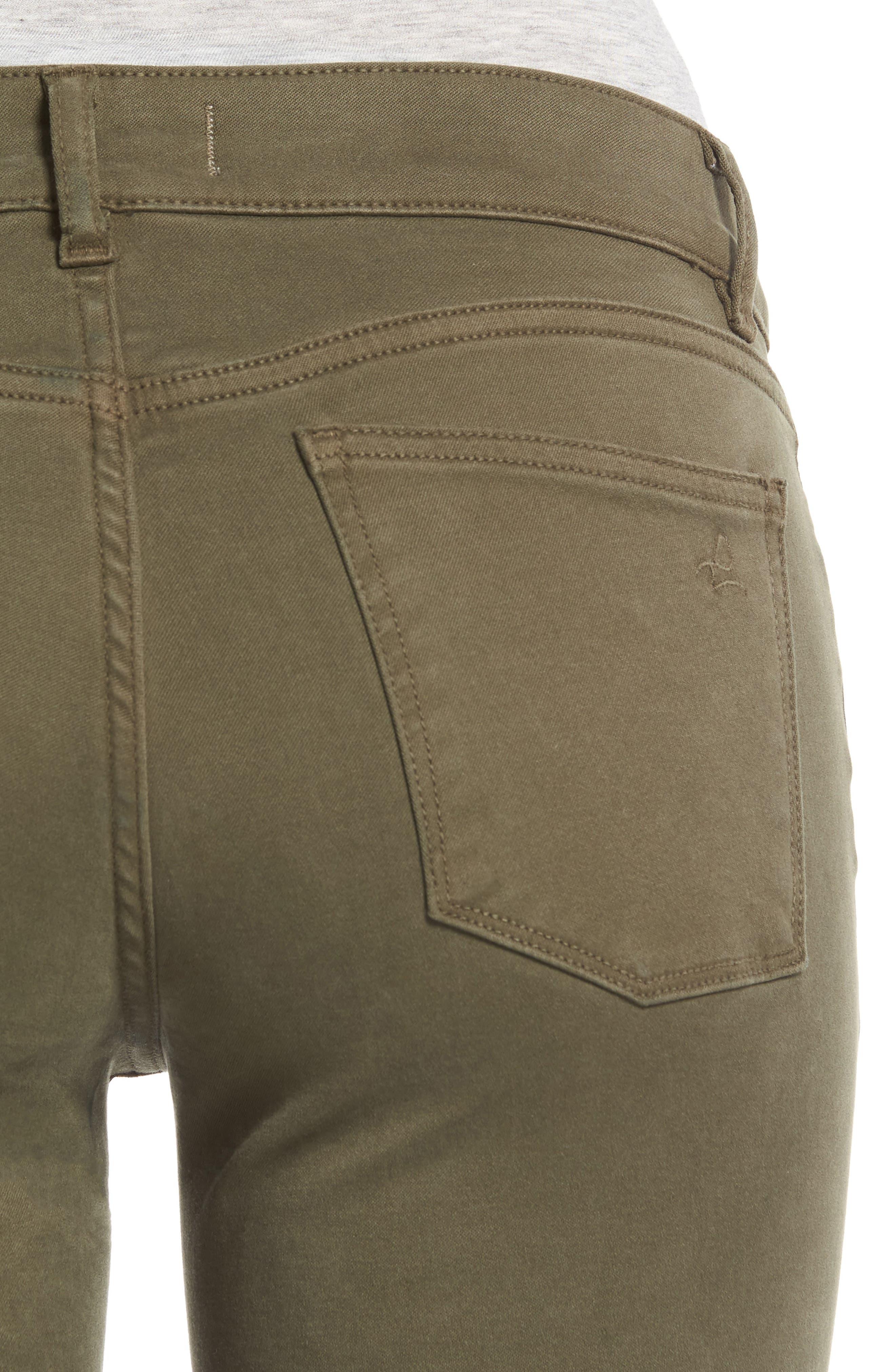 Alternate Image 4  - DL1961 Margaux Instasculpt Ankle Skinny Jeans (Clover)