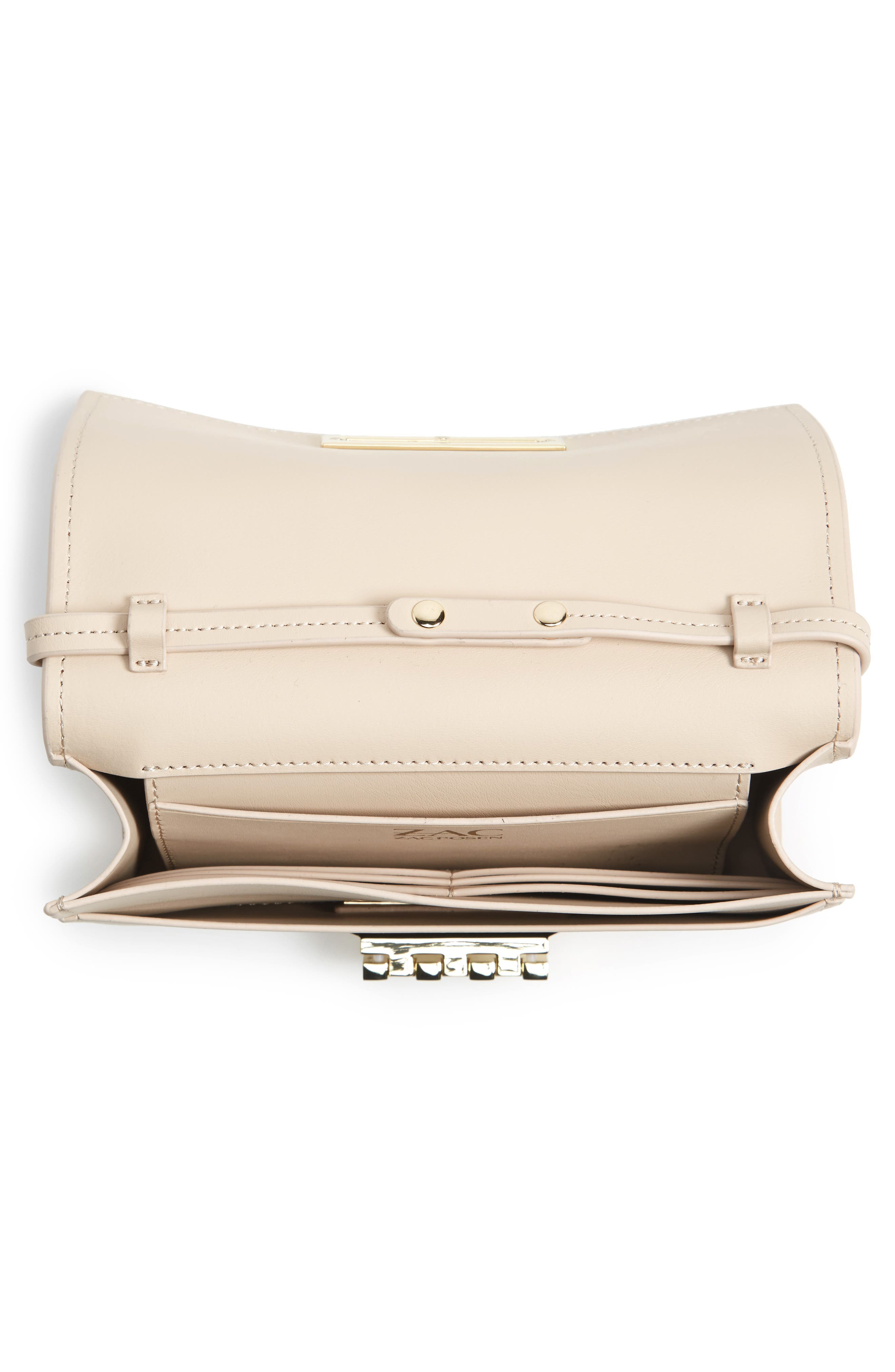 Alternate Image 4  - ZAC Zac Posen Earthette Leather Crossbody Bag