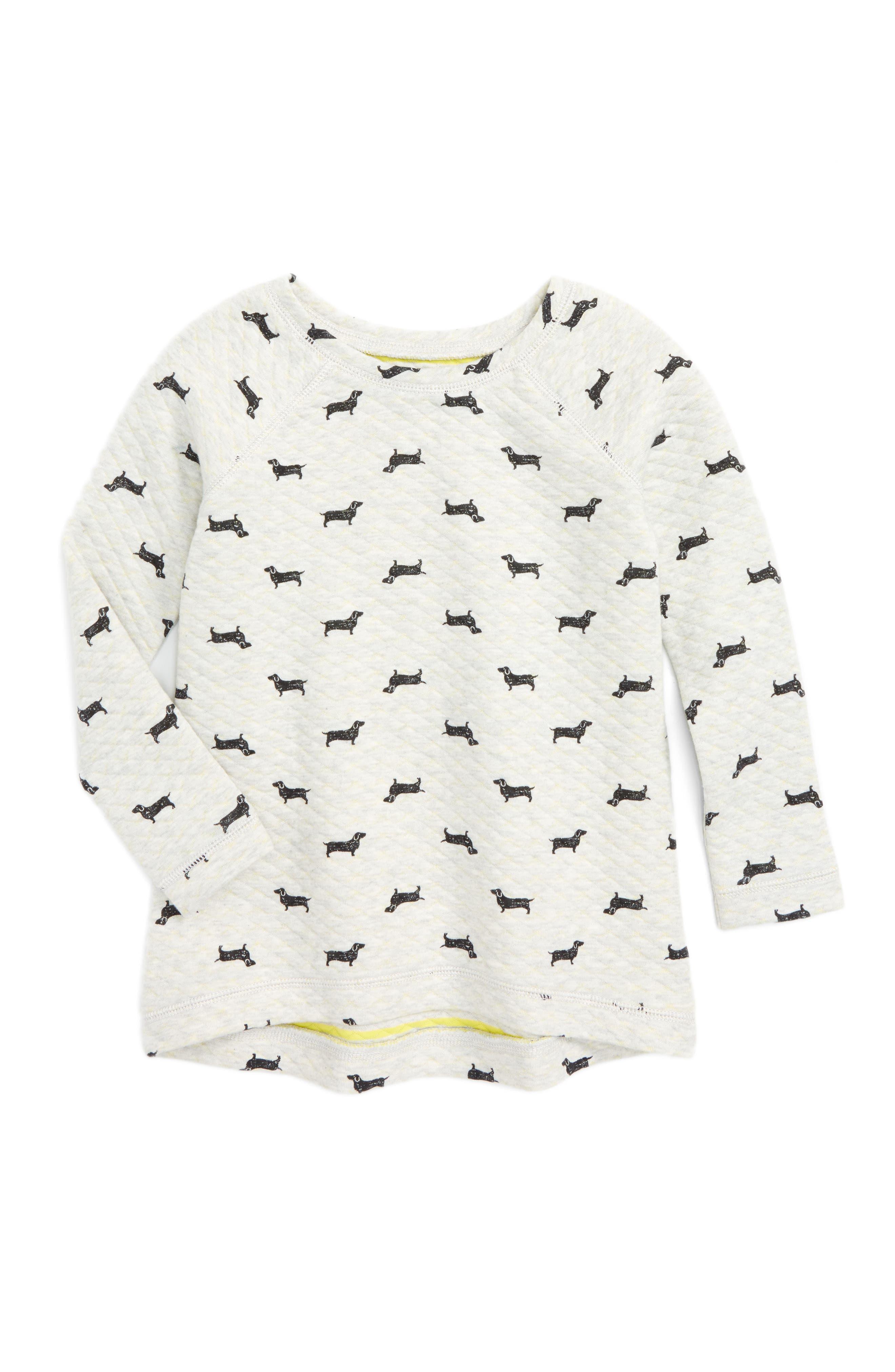 Tucker + Tate Print Sweatshirt (Toddler Girls, Little Girls & Big Girls)