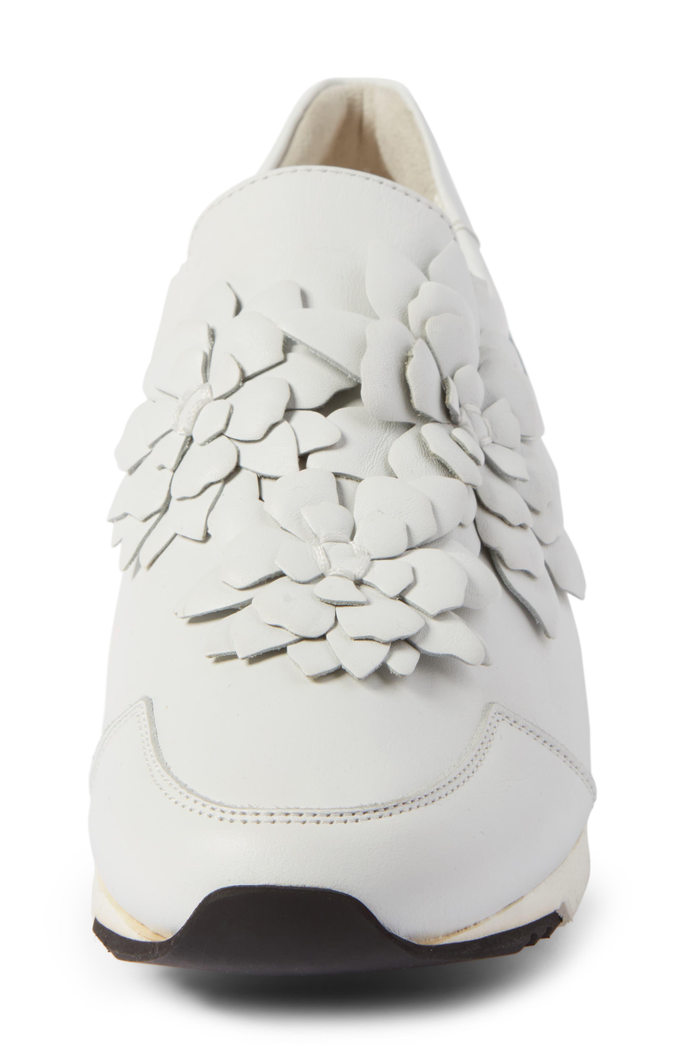 Alternate Image 4  - Kennel & Schmenger Tiger Flower Sneaker (Women)