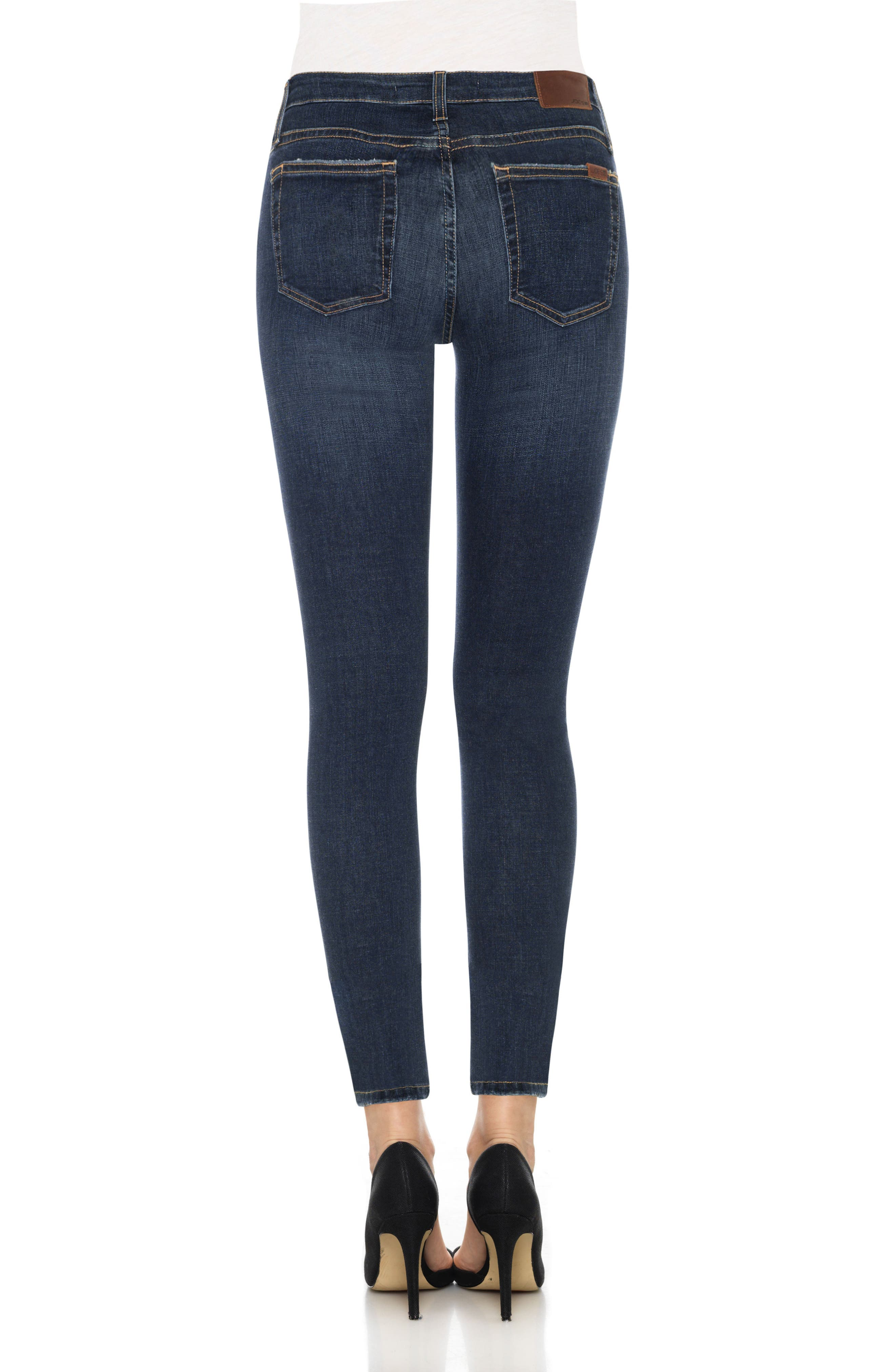Flawless - Icon Ankle Skinny Jeans,                             Alternate thumbnail 2, color,                             Tania