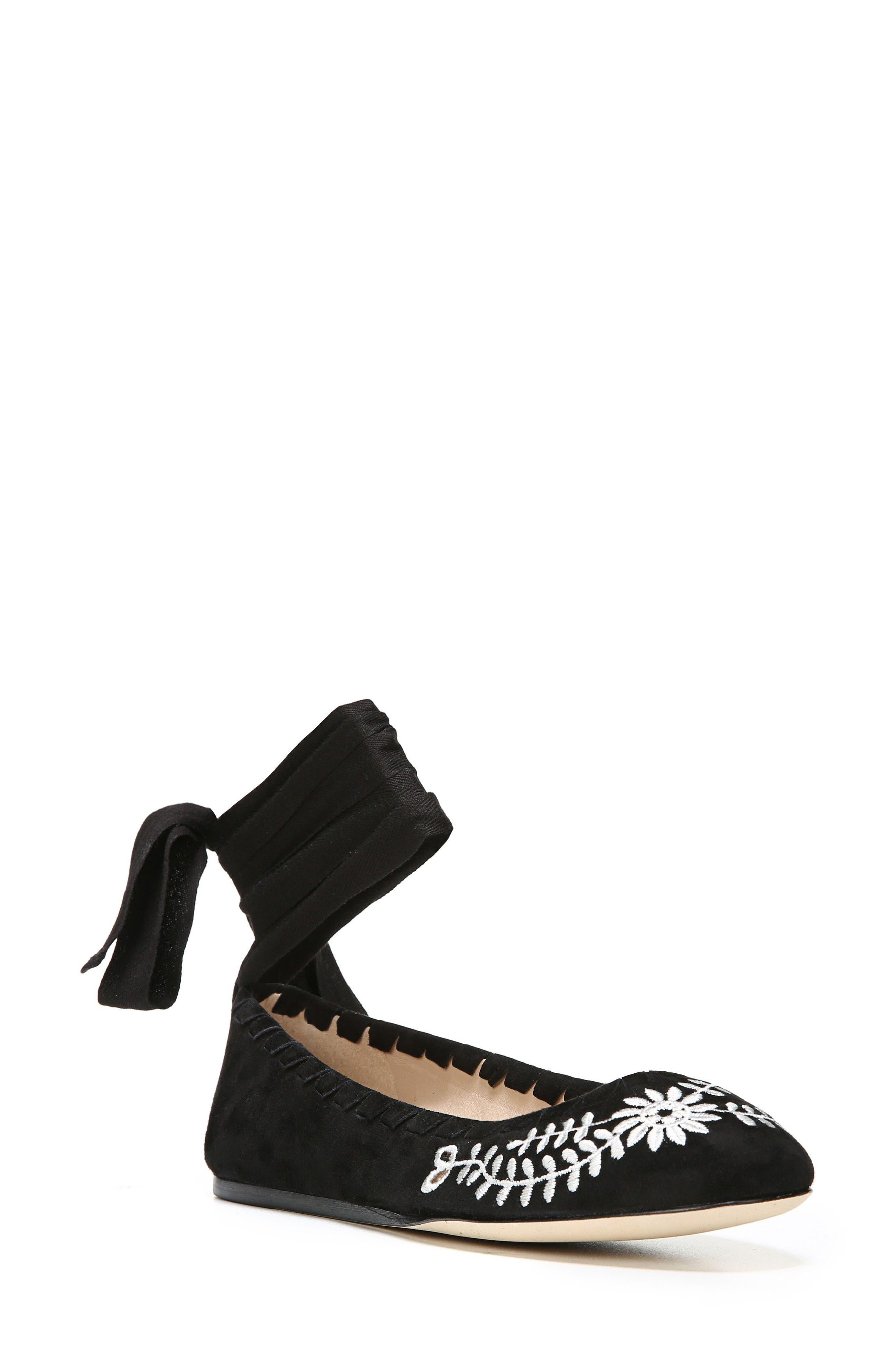 Via Spiga Baylie Tie Ballet Flat (Women)