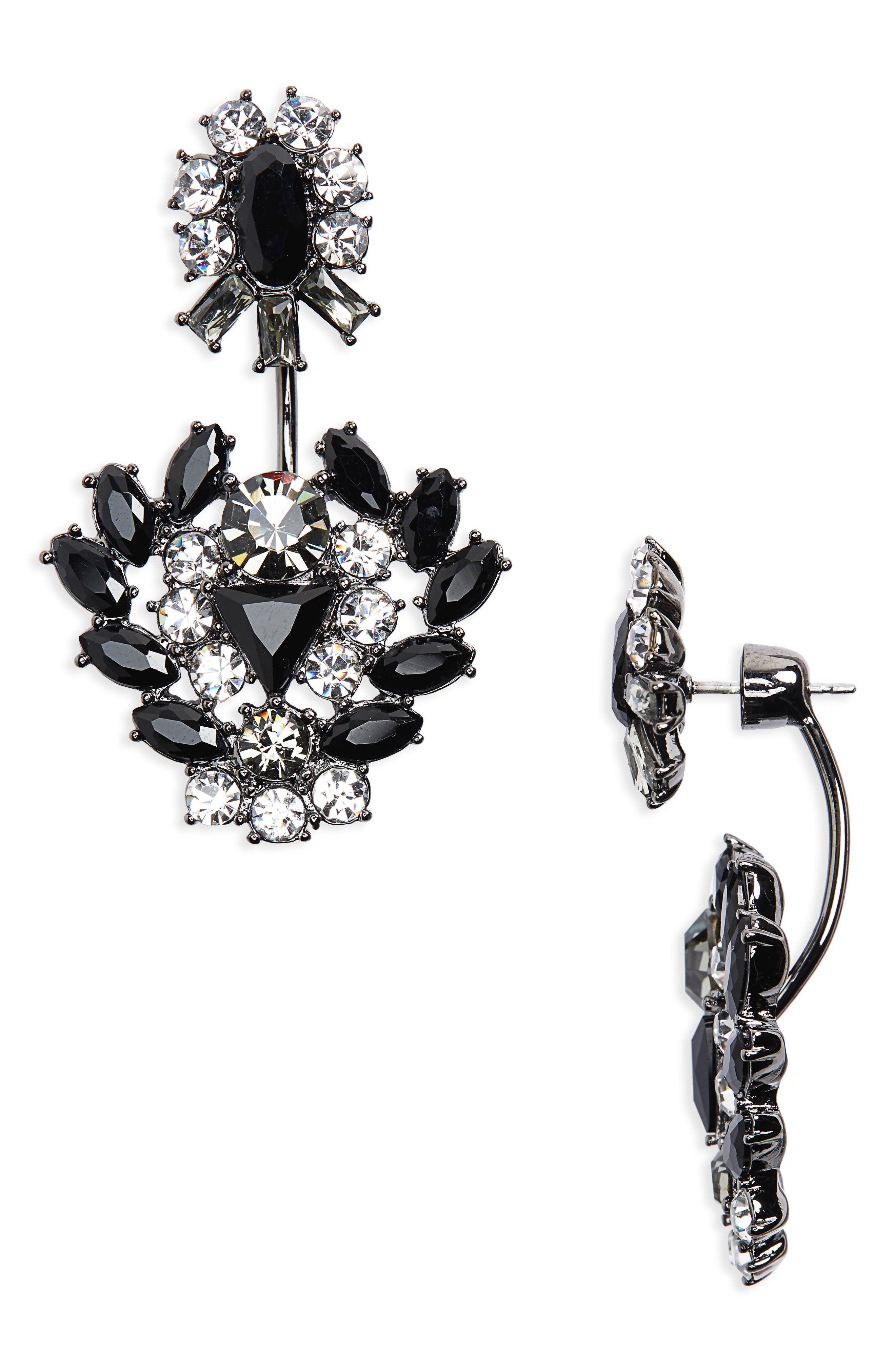 Givenchy Phoenix Drop Back Earrings