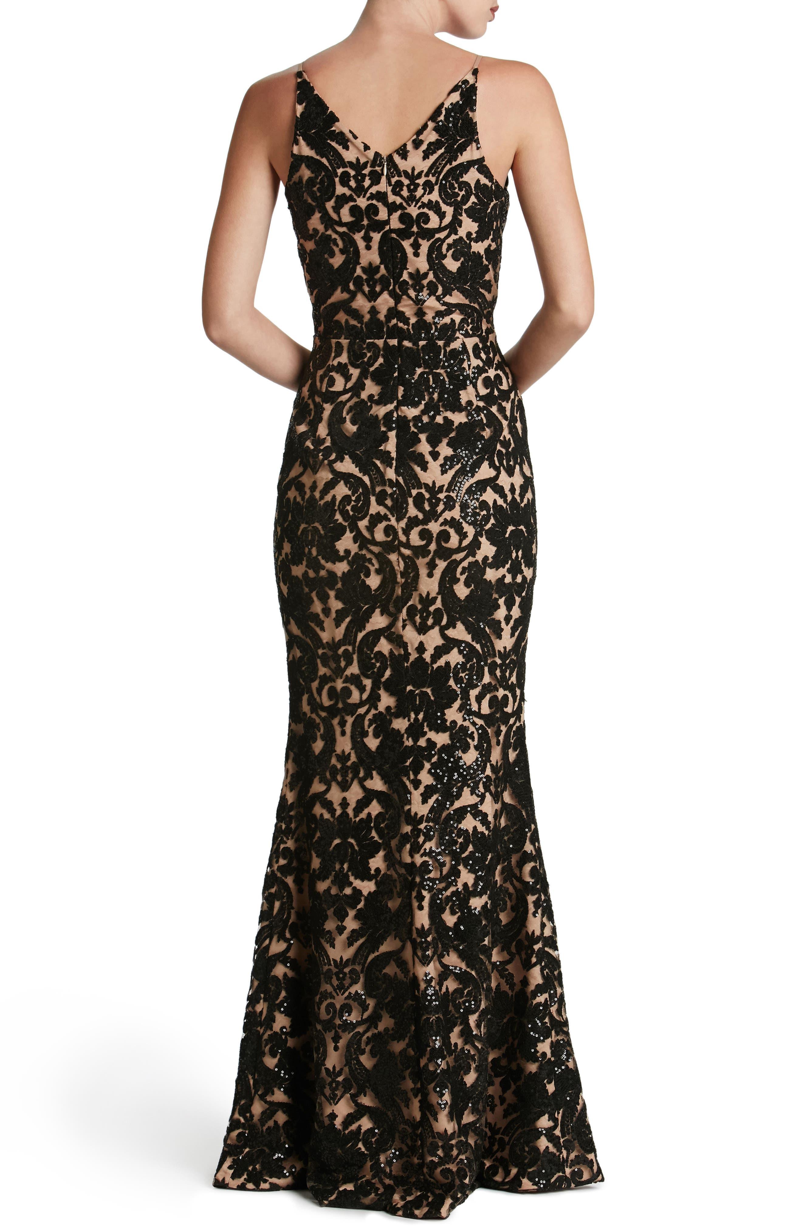 Alternate Image 3  - Dress the Population Karen Mermaid Gown