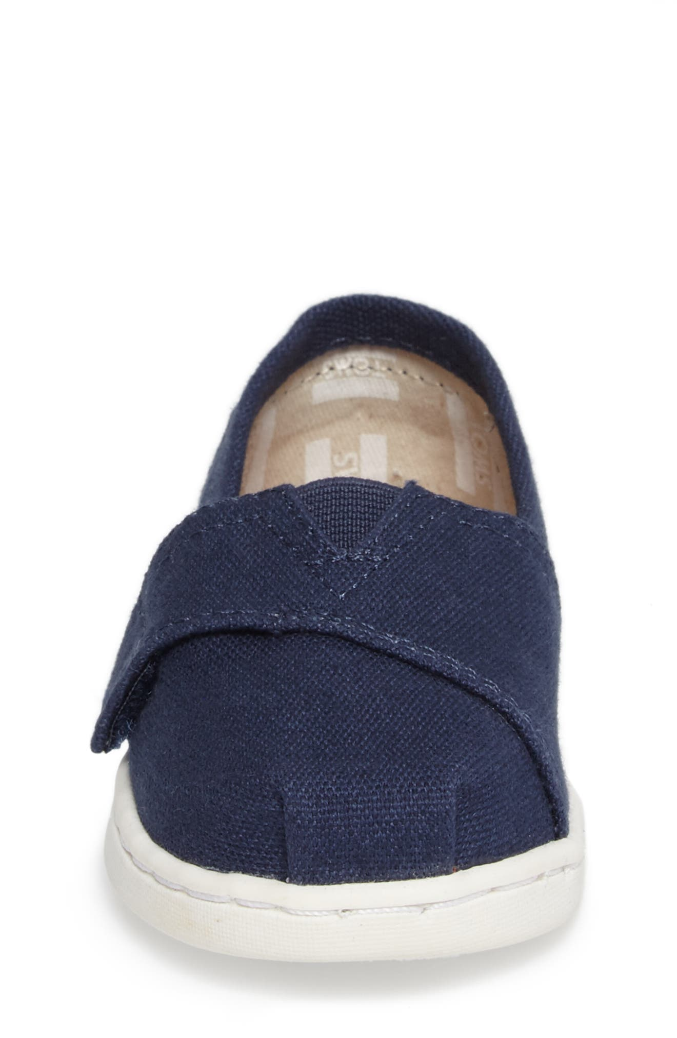 2.0 Alpargata Slip-On,                             Alternate thumbnail 4, color,                             Navy Canvas