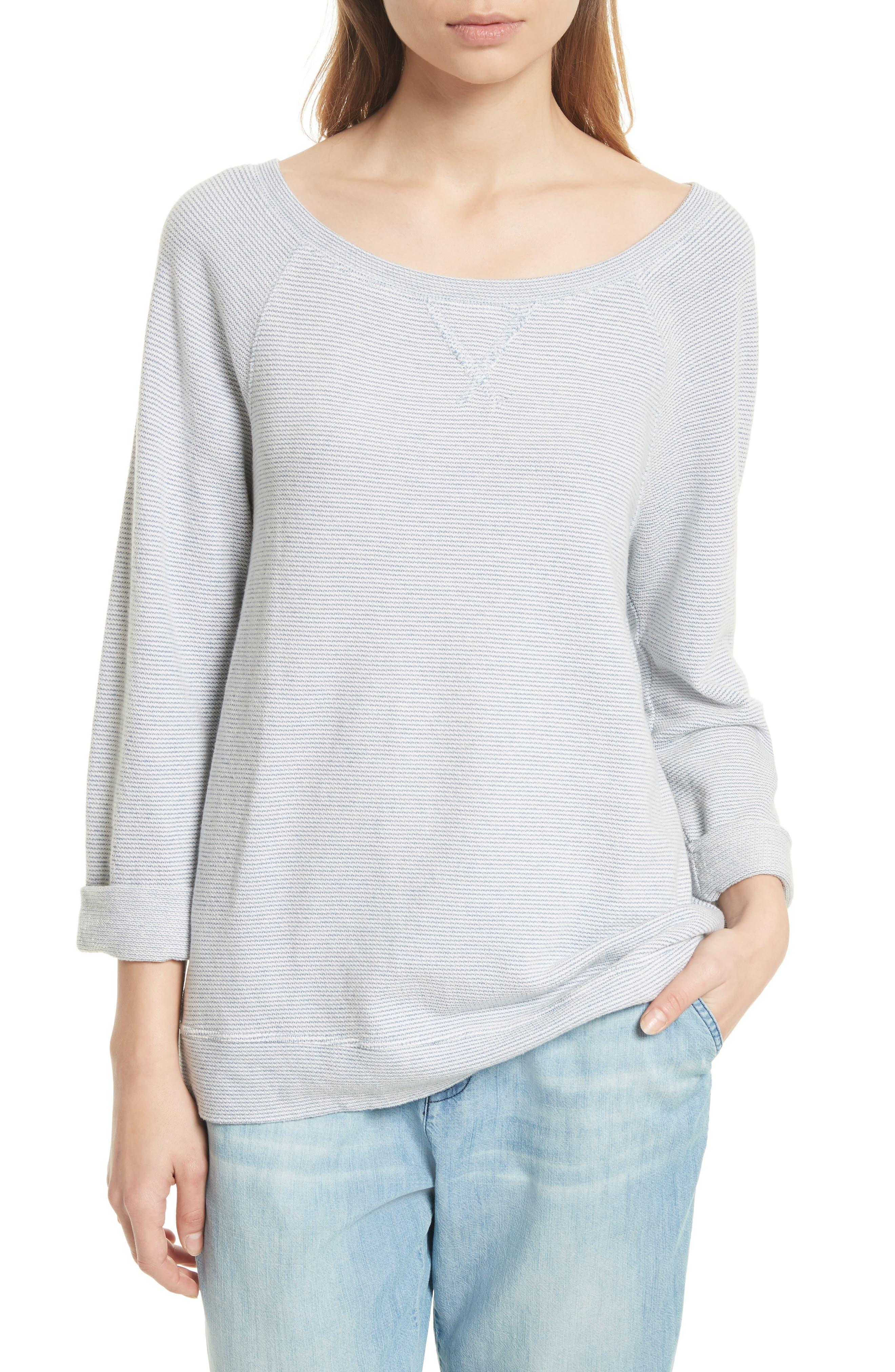 Soft Joie Emma C Stripe Sweatshirt