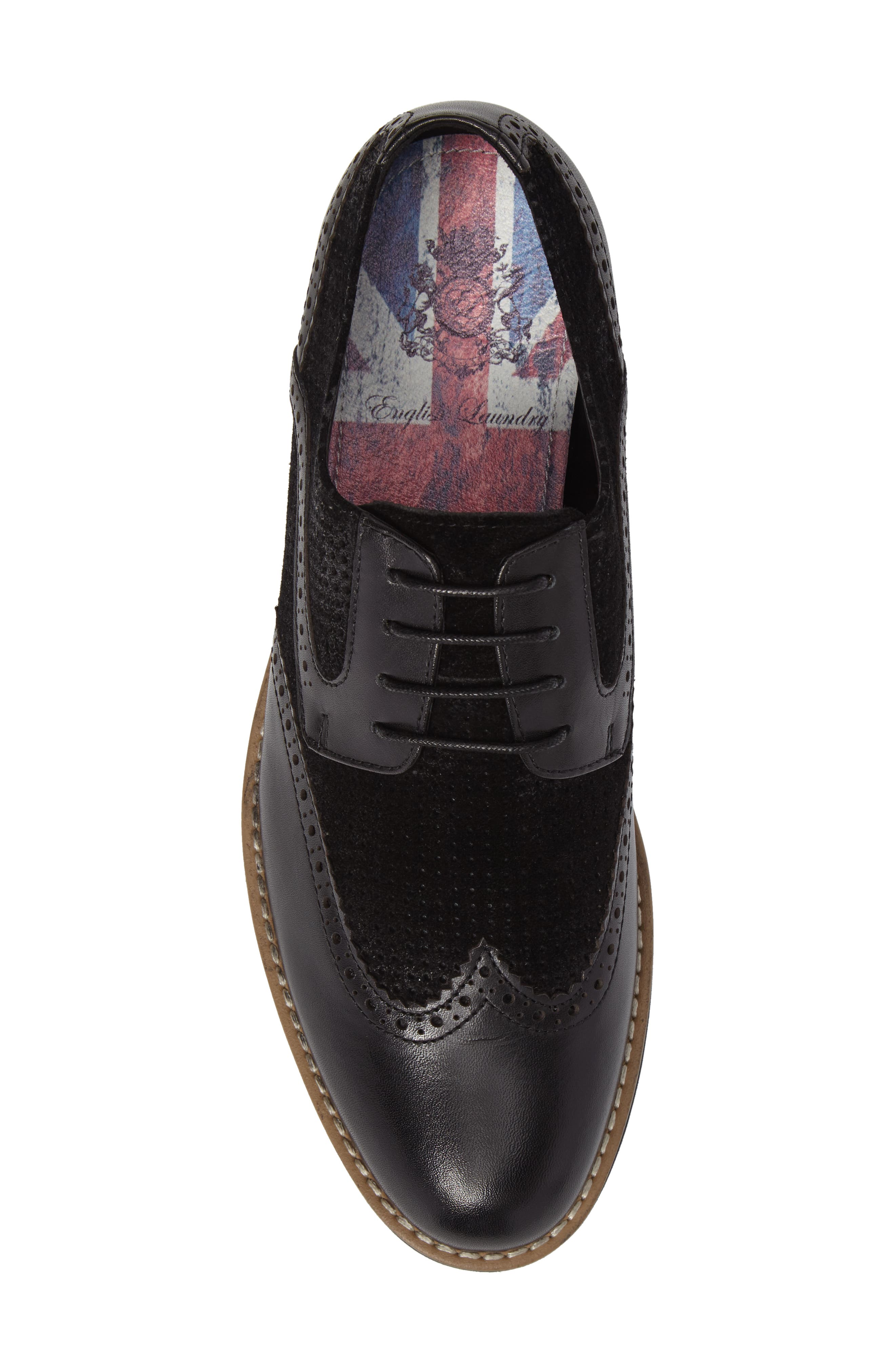 Alternate Image 5  - English Laundry Maritime Spectator Shoe (Men)