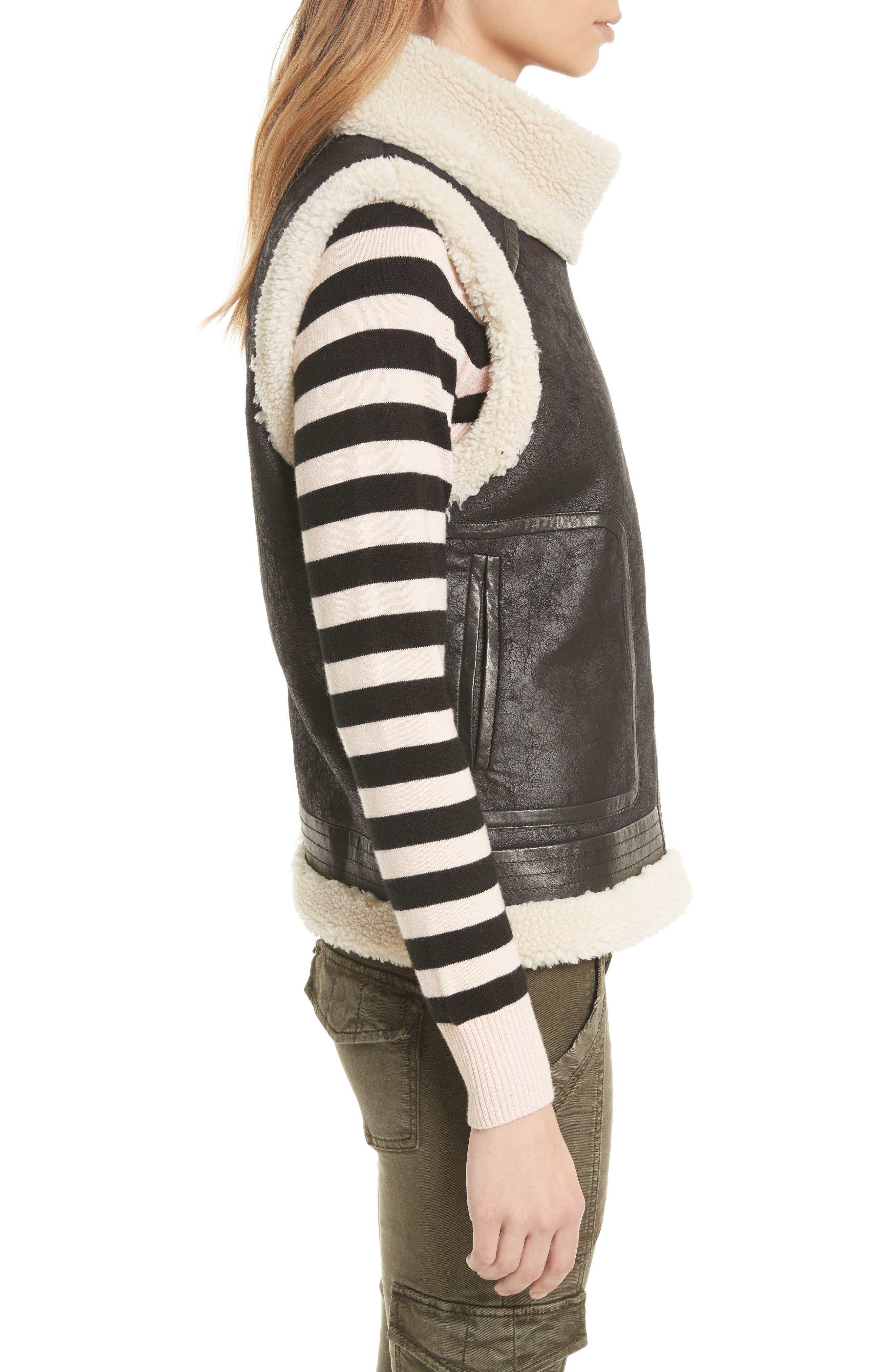 Alternate Image 3  - Joie Danay Faux Shearling Vest