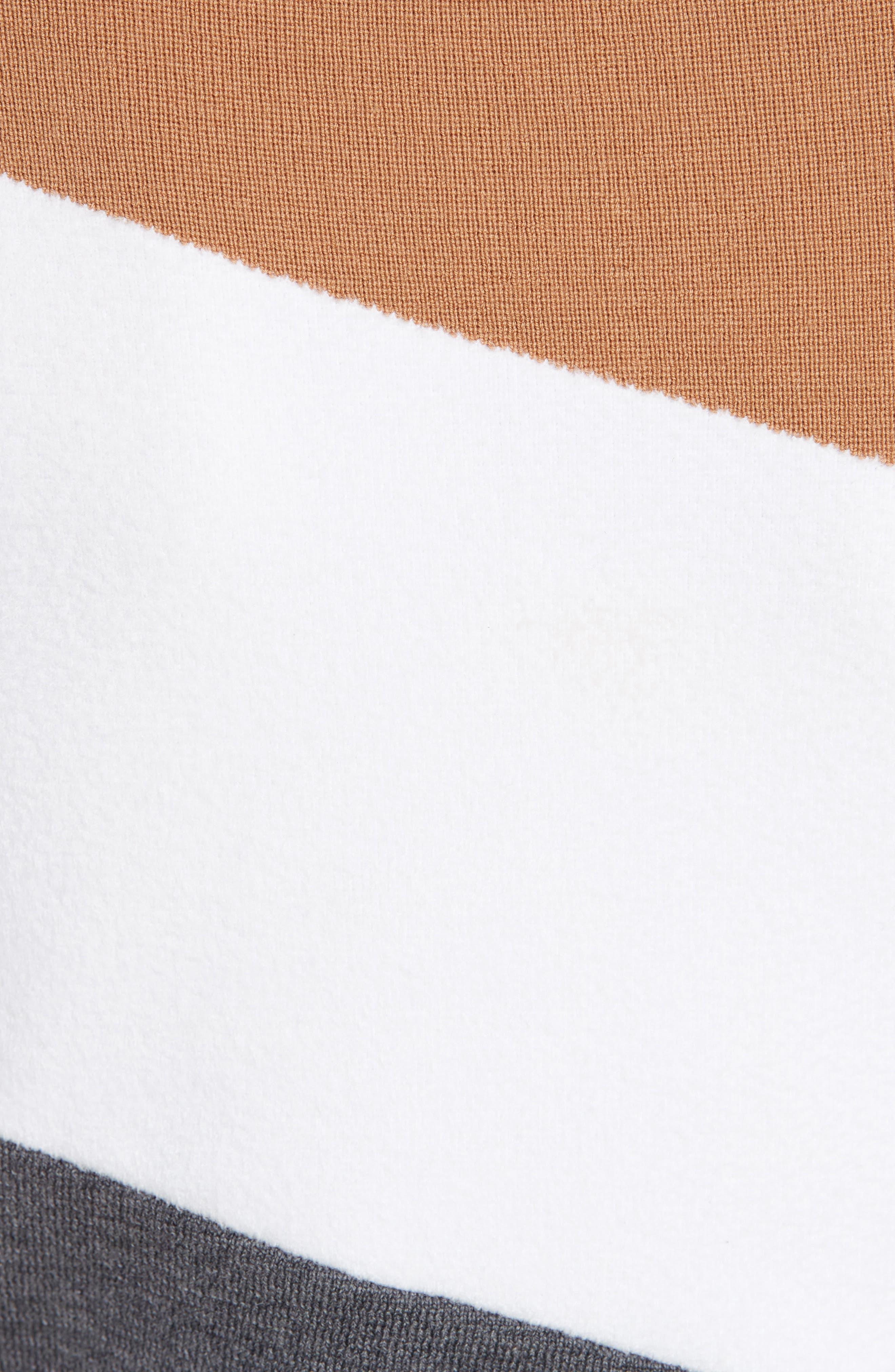 Alternate Image 5  - Diane von Furstenberg Colorblock Asymmetrical Top