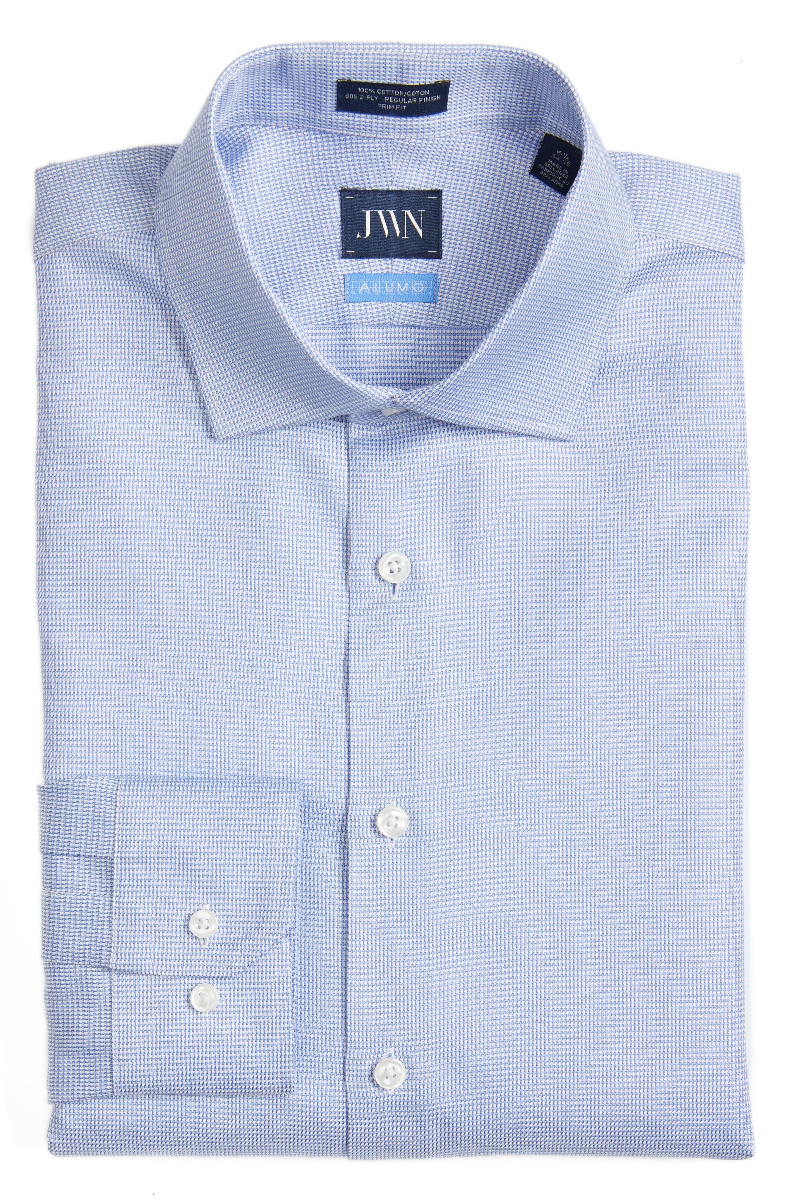 Alternate Image 1 Selected - John W. Nordstrom® Trim Fit Solid Dress Shirt