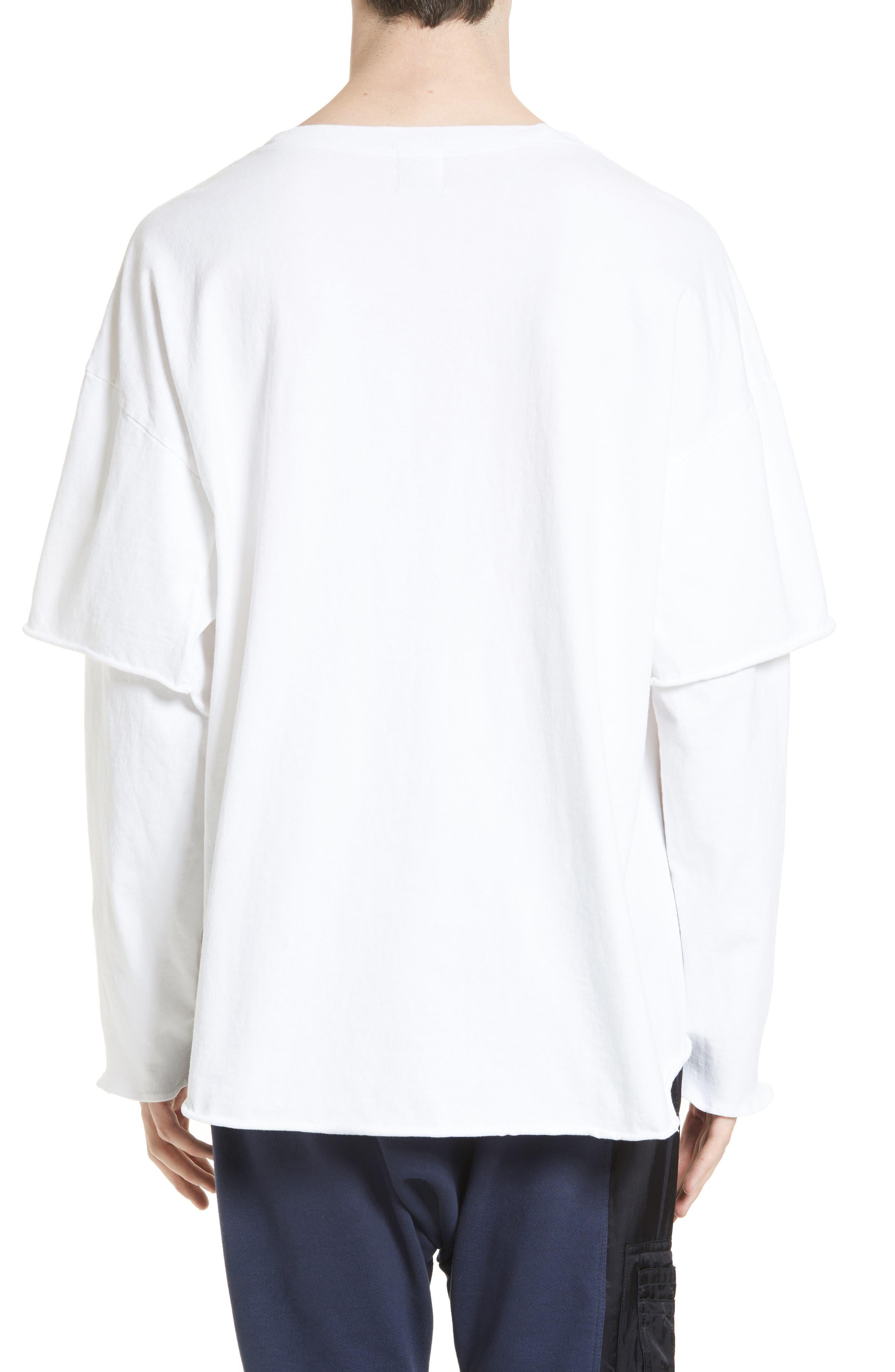 Filius Vitamin D Graphic T-Shirt,                             Alternate thumbnail 2, color,                             White