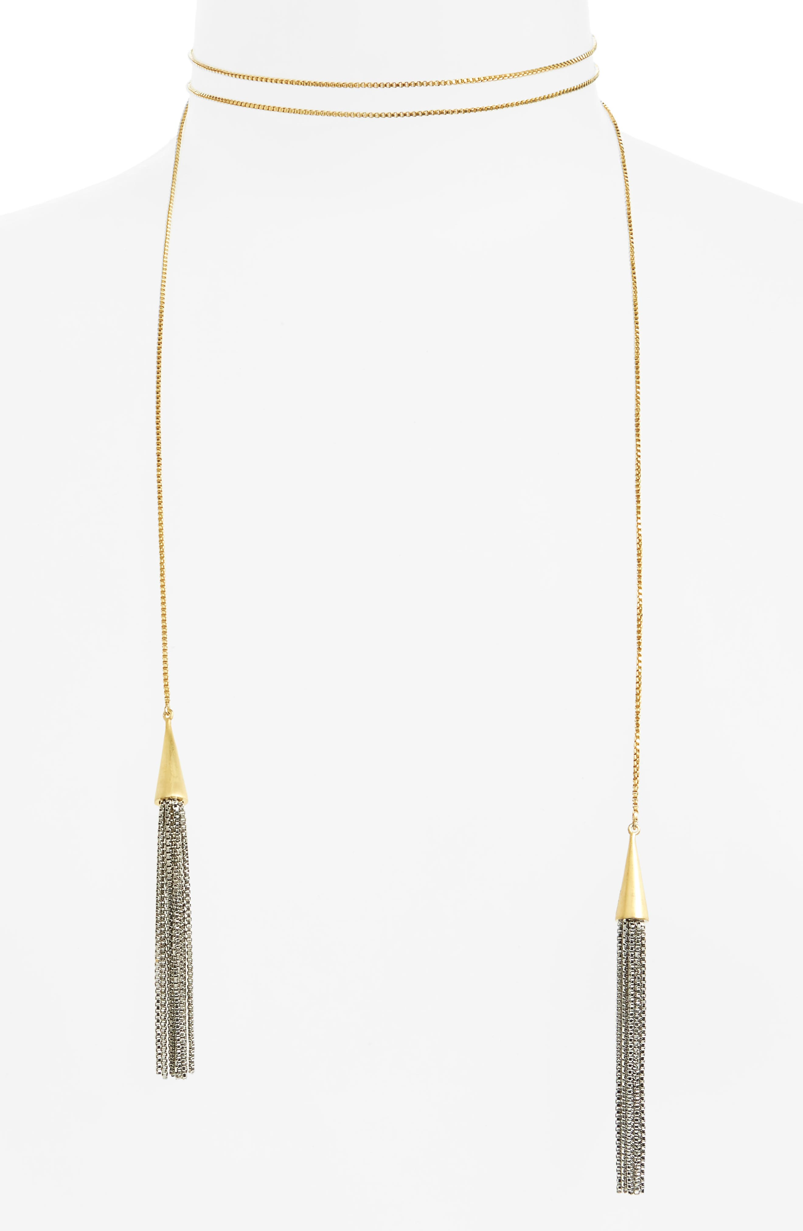 Main Image - Dean Davidson Tassel Lariat Necklace