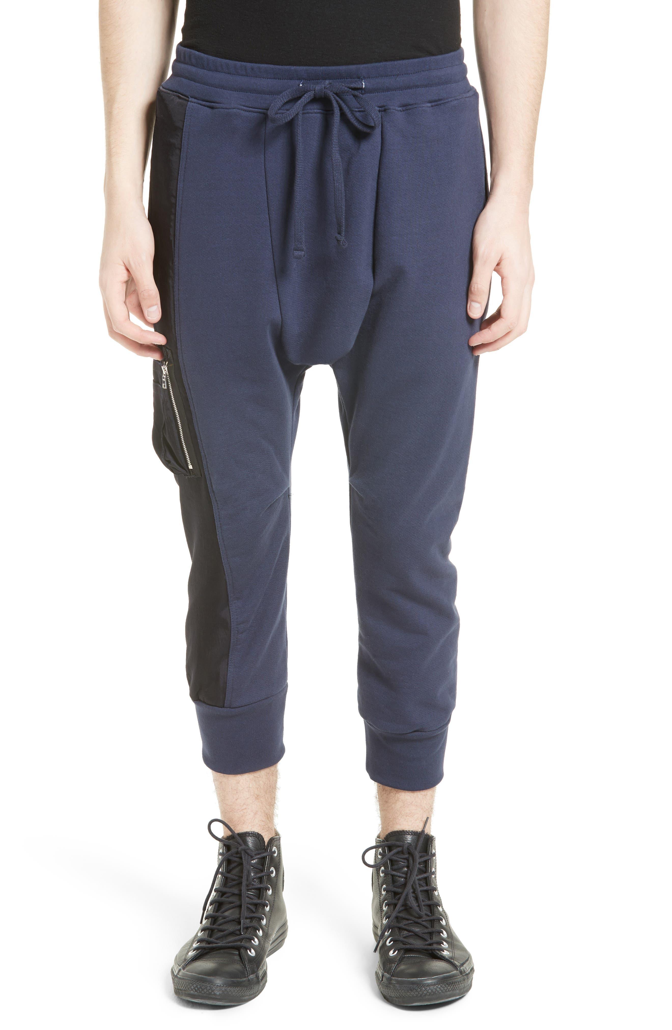 Militia Sweatpants,                         Main,                         color, Navy