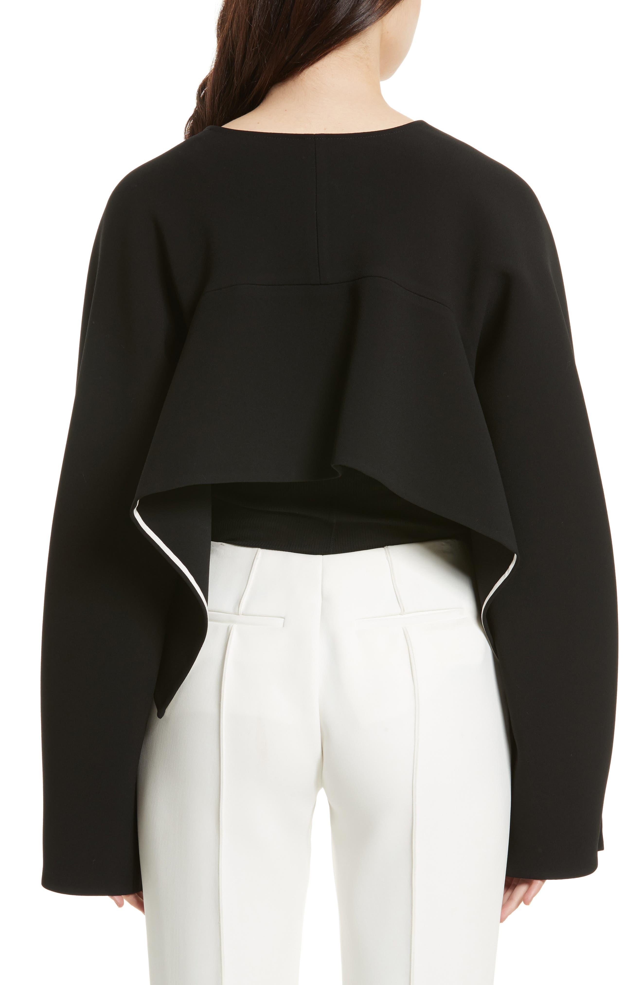 Alternate Image 2  - Diane von Furstenberg Crop Jacket