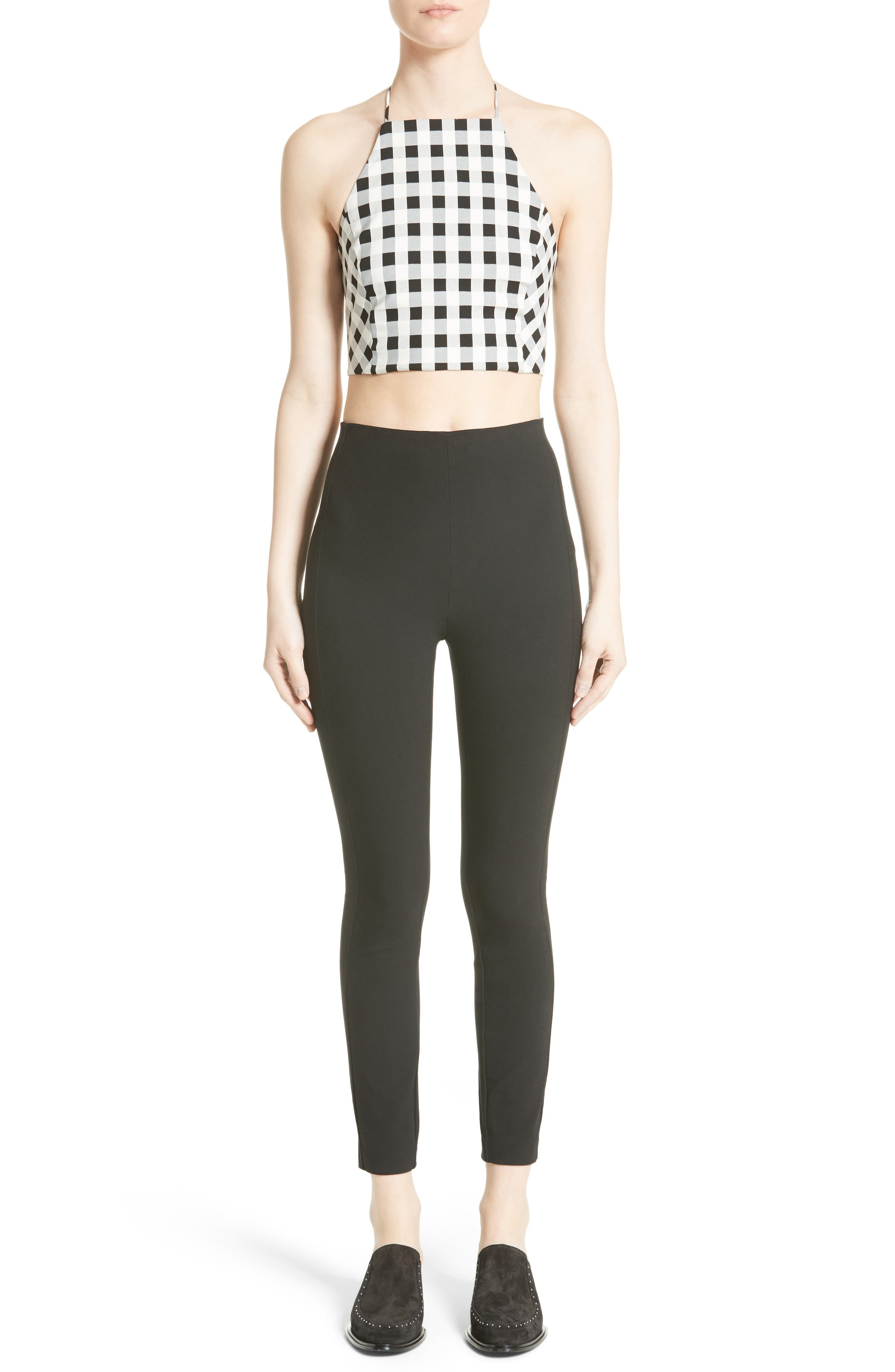 Alternate Image 2  - rag & bone Nevada Crop Halter Top