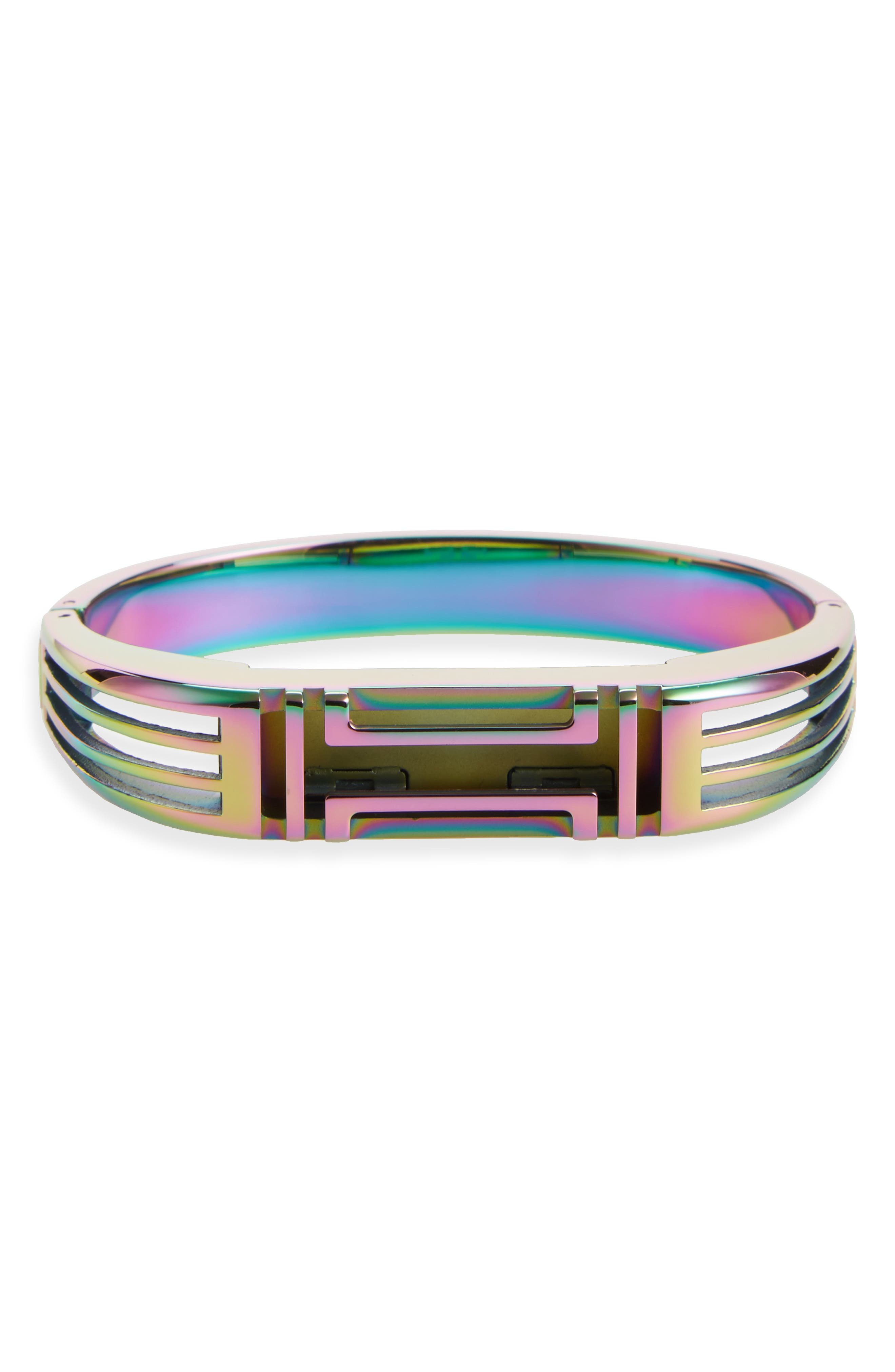 Alternate Image 1 Selected - Tory Burch for Fitbit® Hinge Bracelet