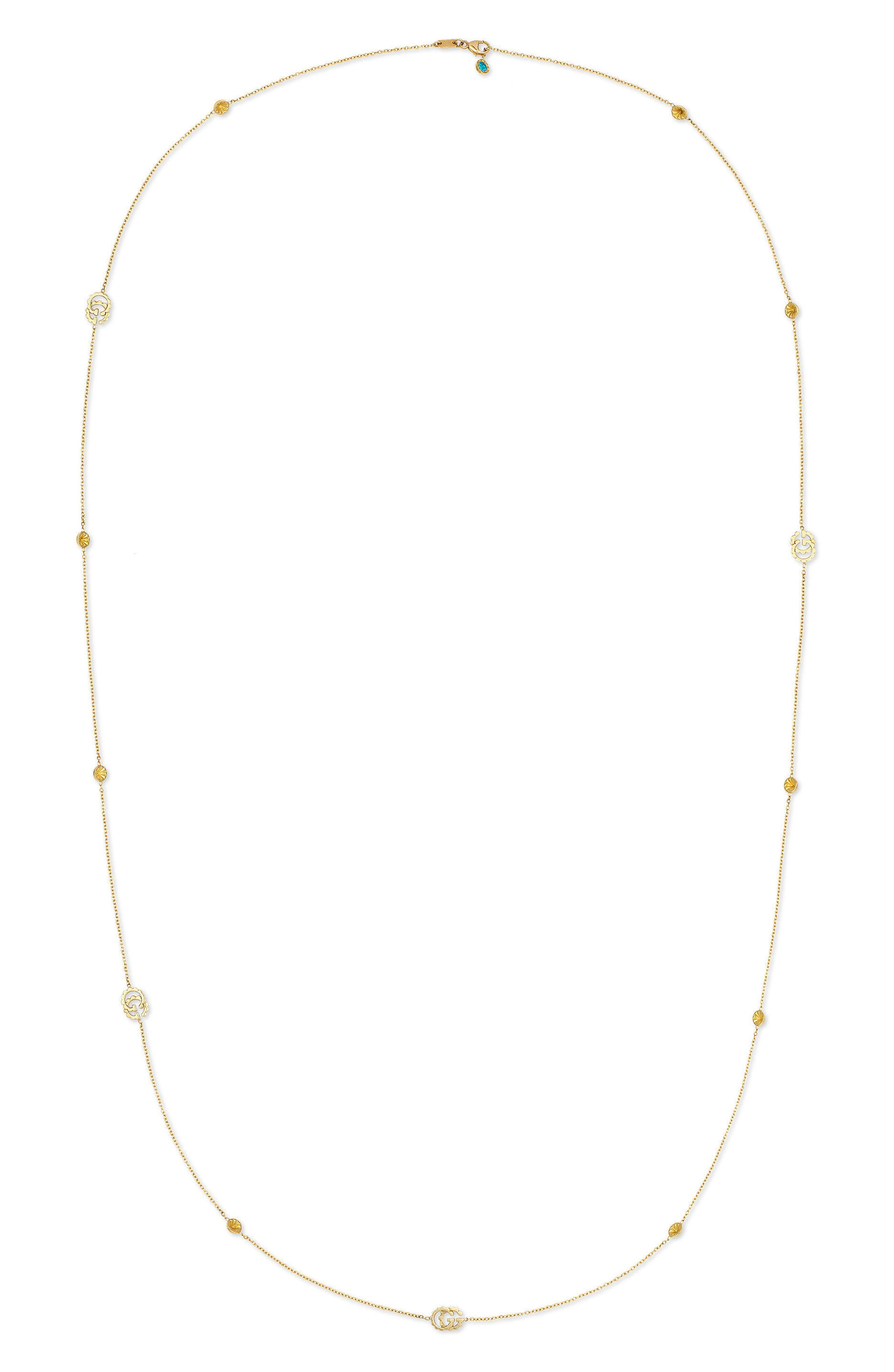 GUCCI Double-G Station Necklace