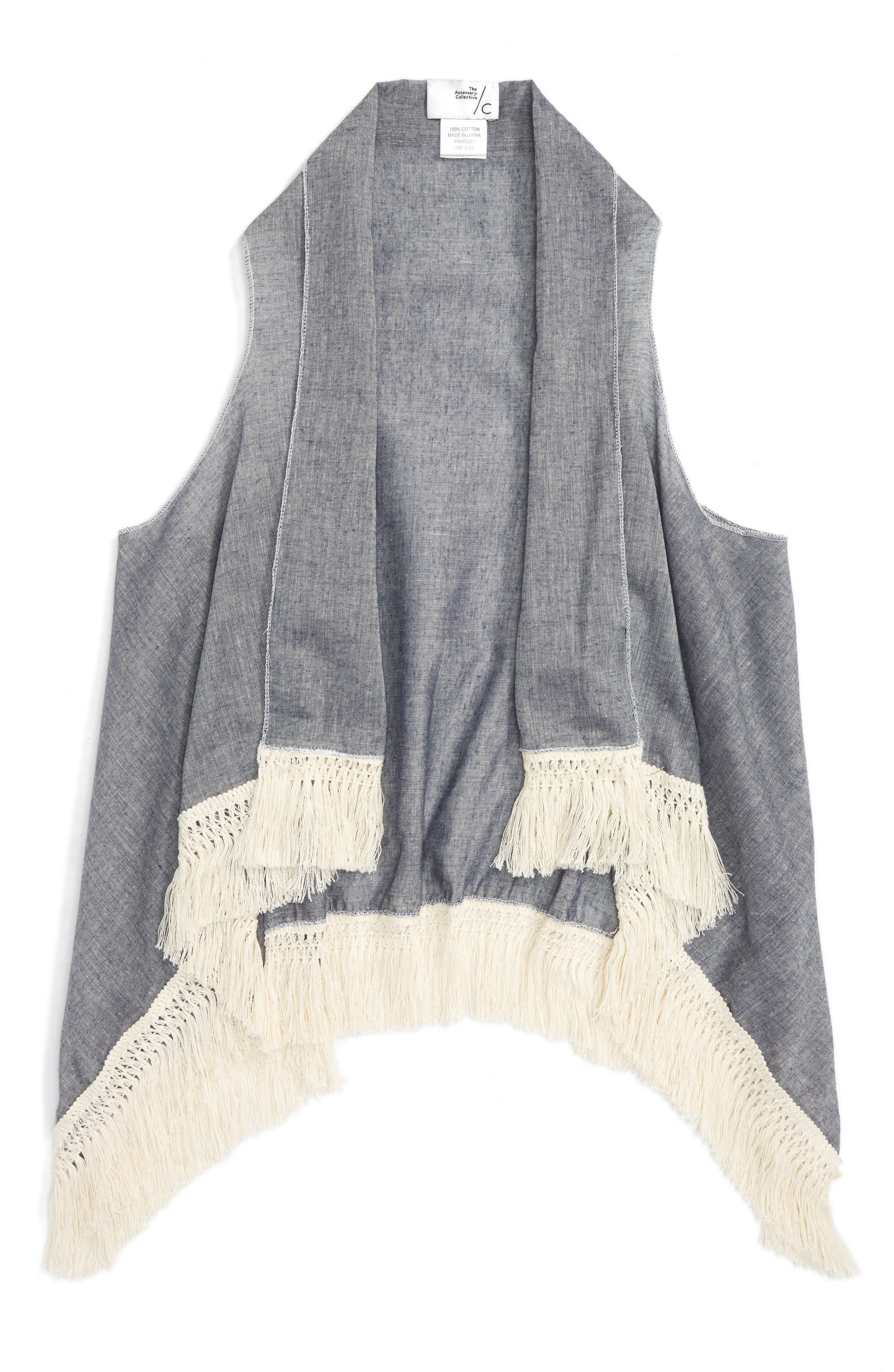 Accessory Collective Chambray Vest (Big Girls)