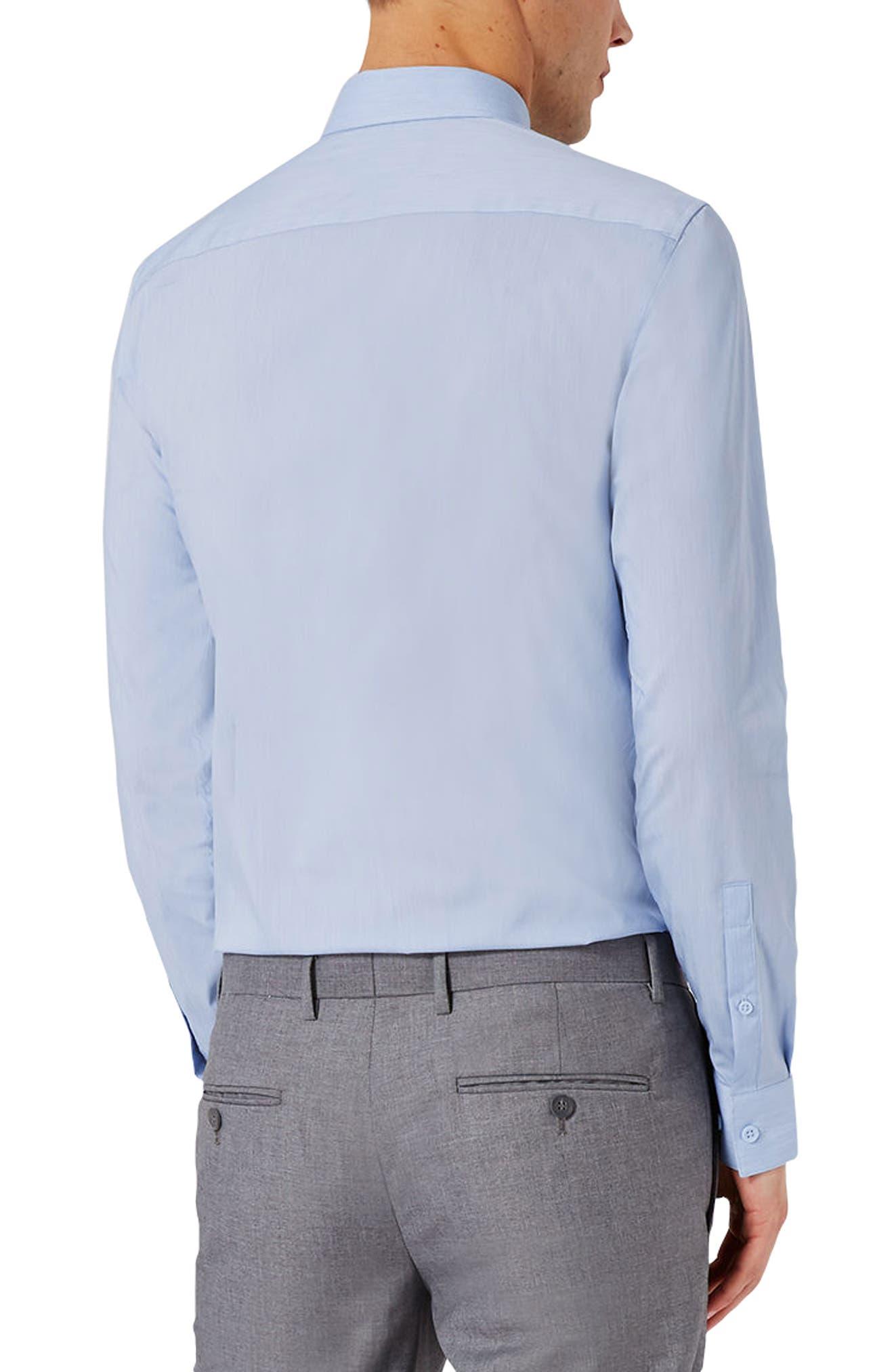 Alternate Image 4  - Topman Muscle Fit Shirt