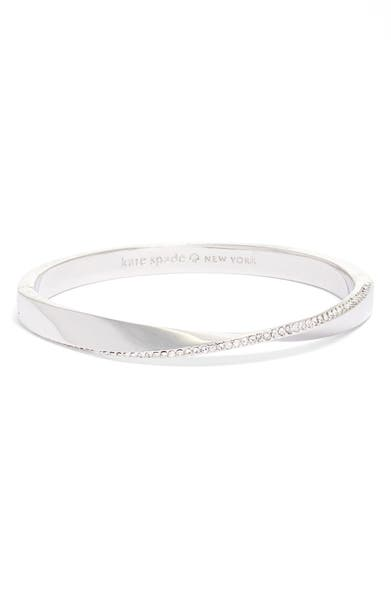Main Image - kate spade new york do the twist pavé bangle