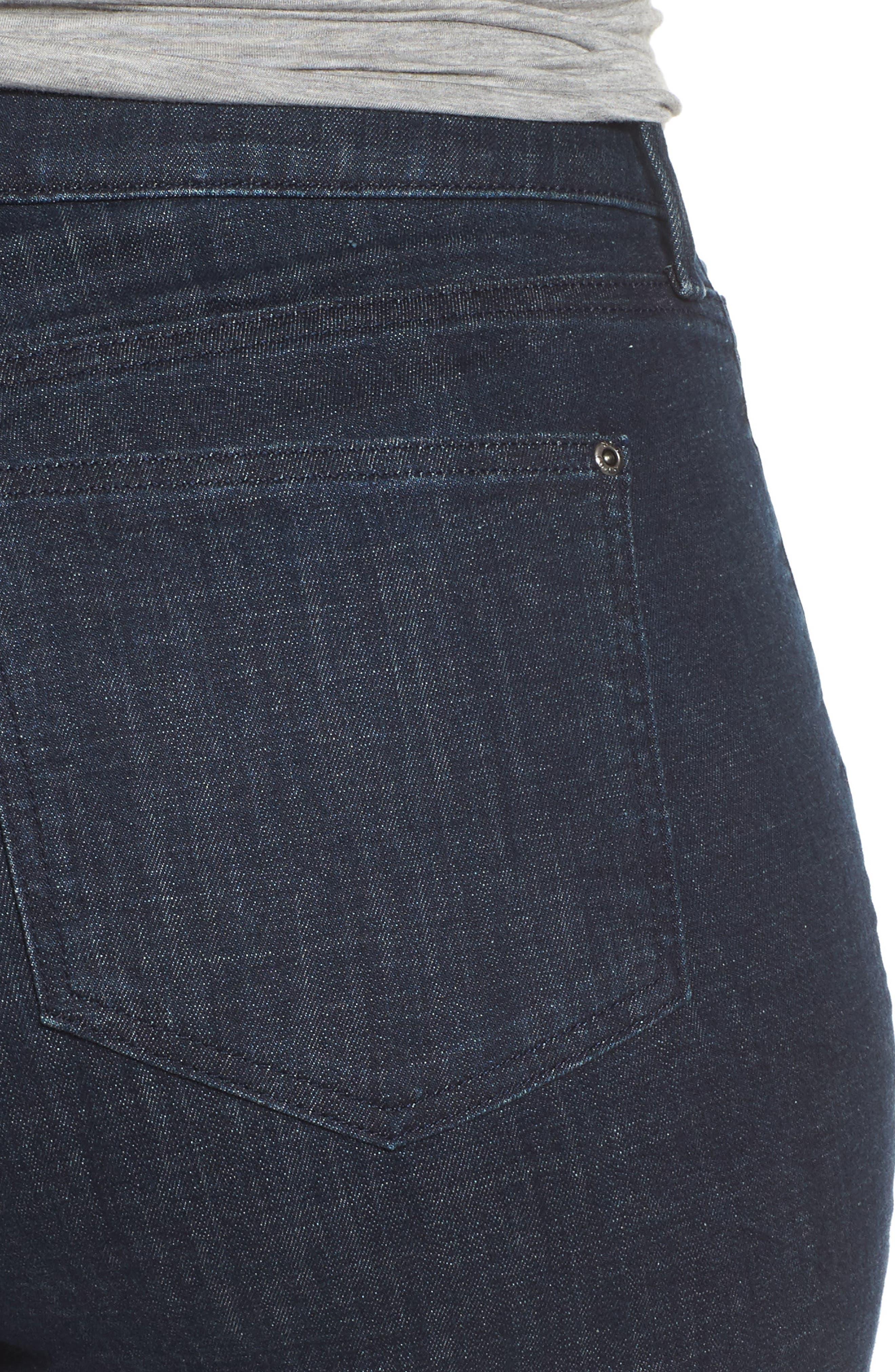 Alternate Image 4  - NYDJ Barbara Stretch Bootcut Jeans (Plus Size)