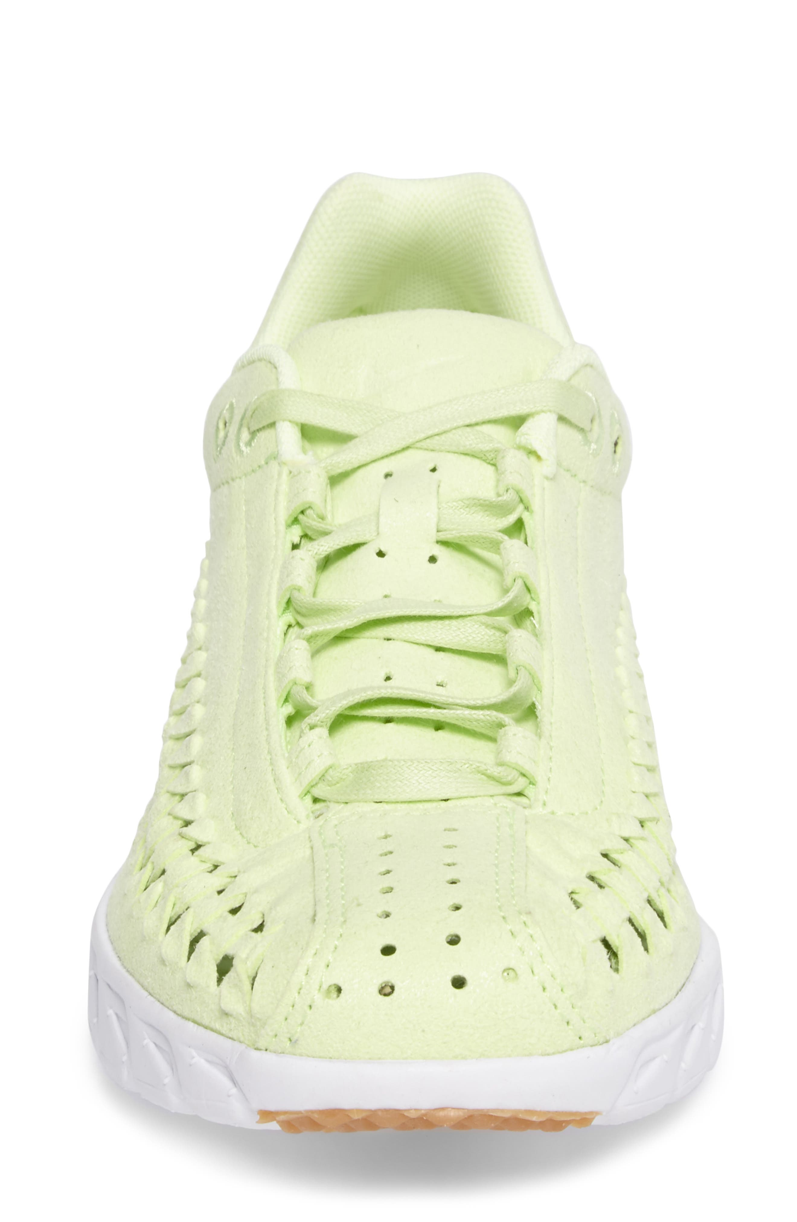 Mayfly Woven QS Sneaker,                             Alternate thumbnail 5, color,                             Liquid Lime/ Liquid Lime