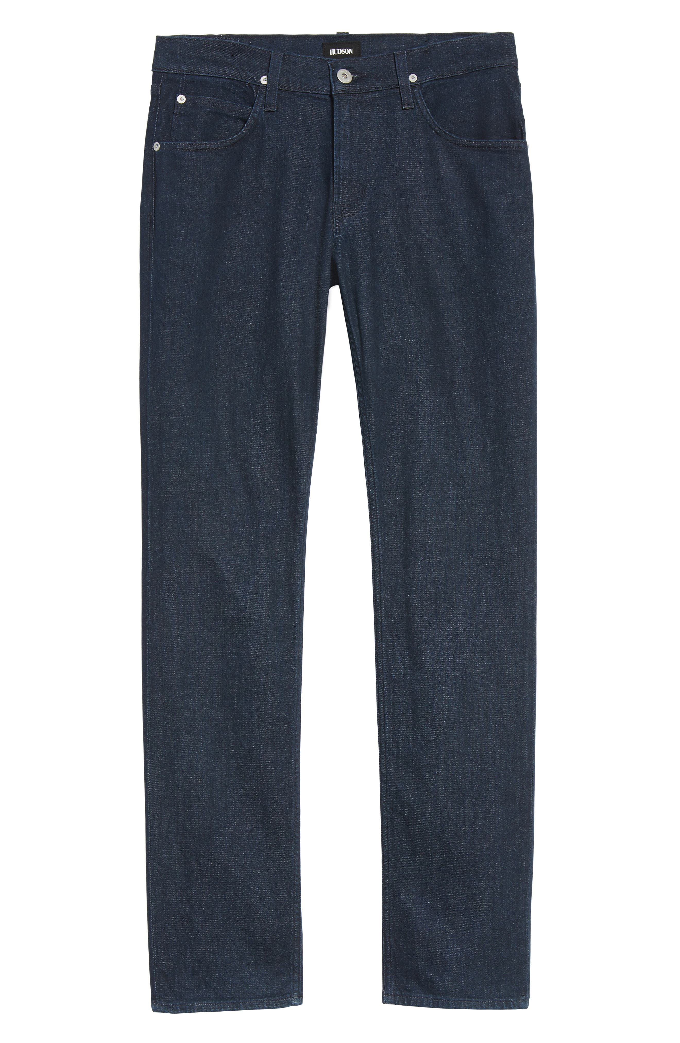 Alternate Image 6  - Hudson Jeans Blake Slim Fit Jeans (Firebrand)