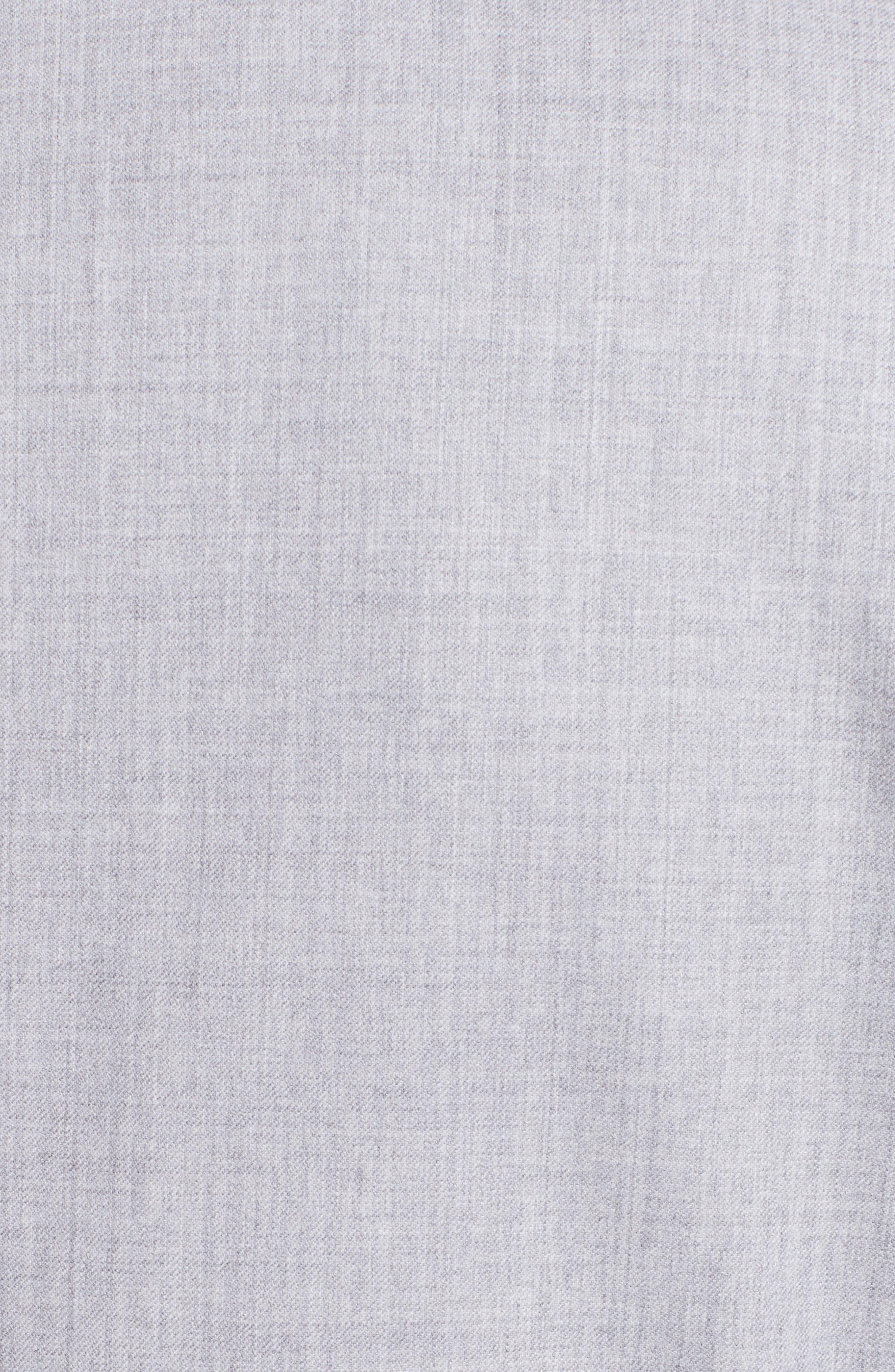 Stretch Wool Jacket,                             Alternate thumbnail 3, color,                             Light Grey