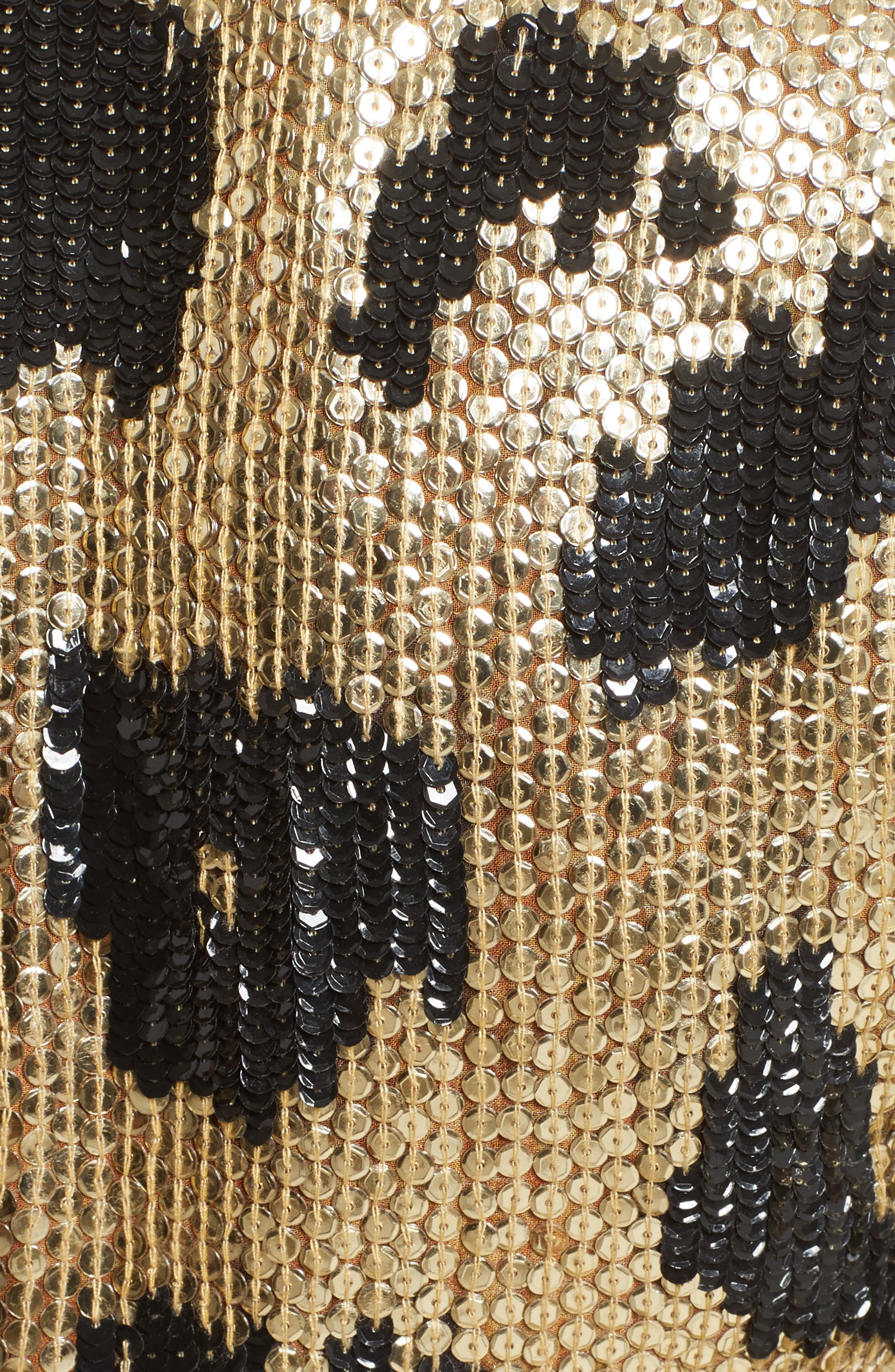Alternate Image 5  - Naeem Khan Cheetah Print Sequin Sheath Dress