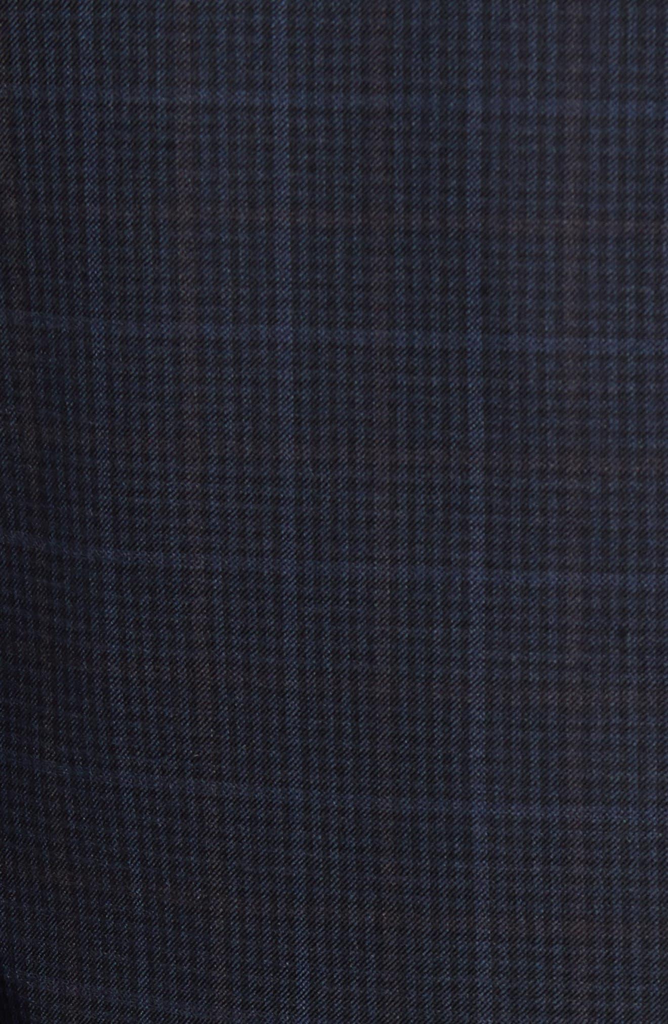 Alternate Image 5  - Nordstrom Men's Shop Classic Fit Plaid Wool Sport Coat