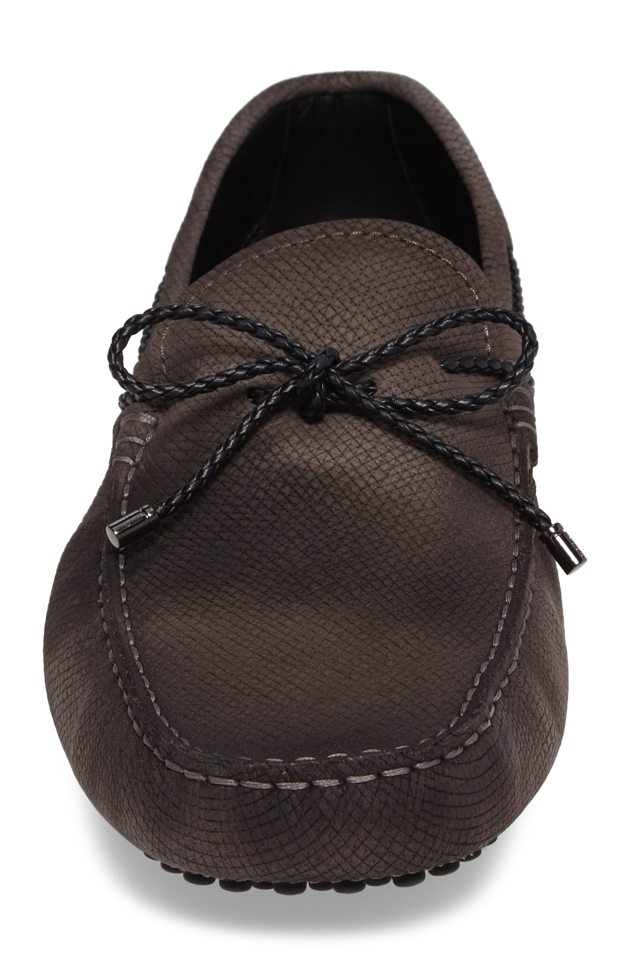 Alternate Image 4  - Tod's Gommin Textured Driving Shoe (Men)