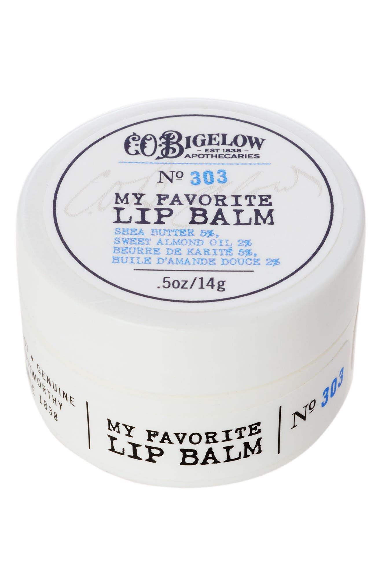 Alternate Image 1 Selected - C.O. Bigelow® No. 303 My Favorite Lip Balm in a Jar