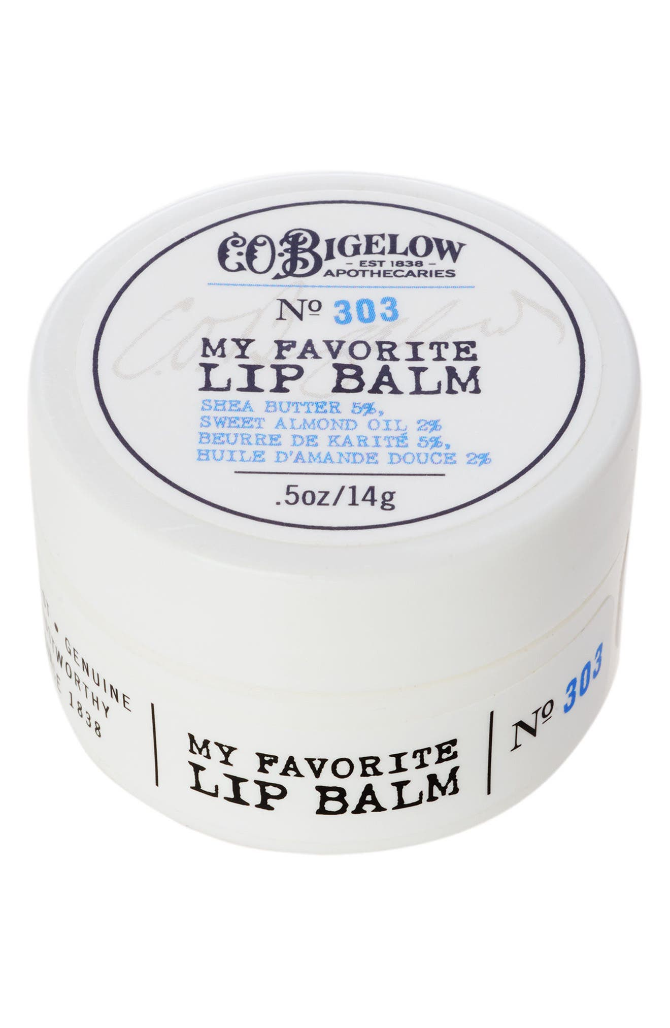 Main Image - C.O. Bigelow® No. 303 My Favorite Lip Balm in a Jar