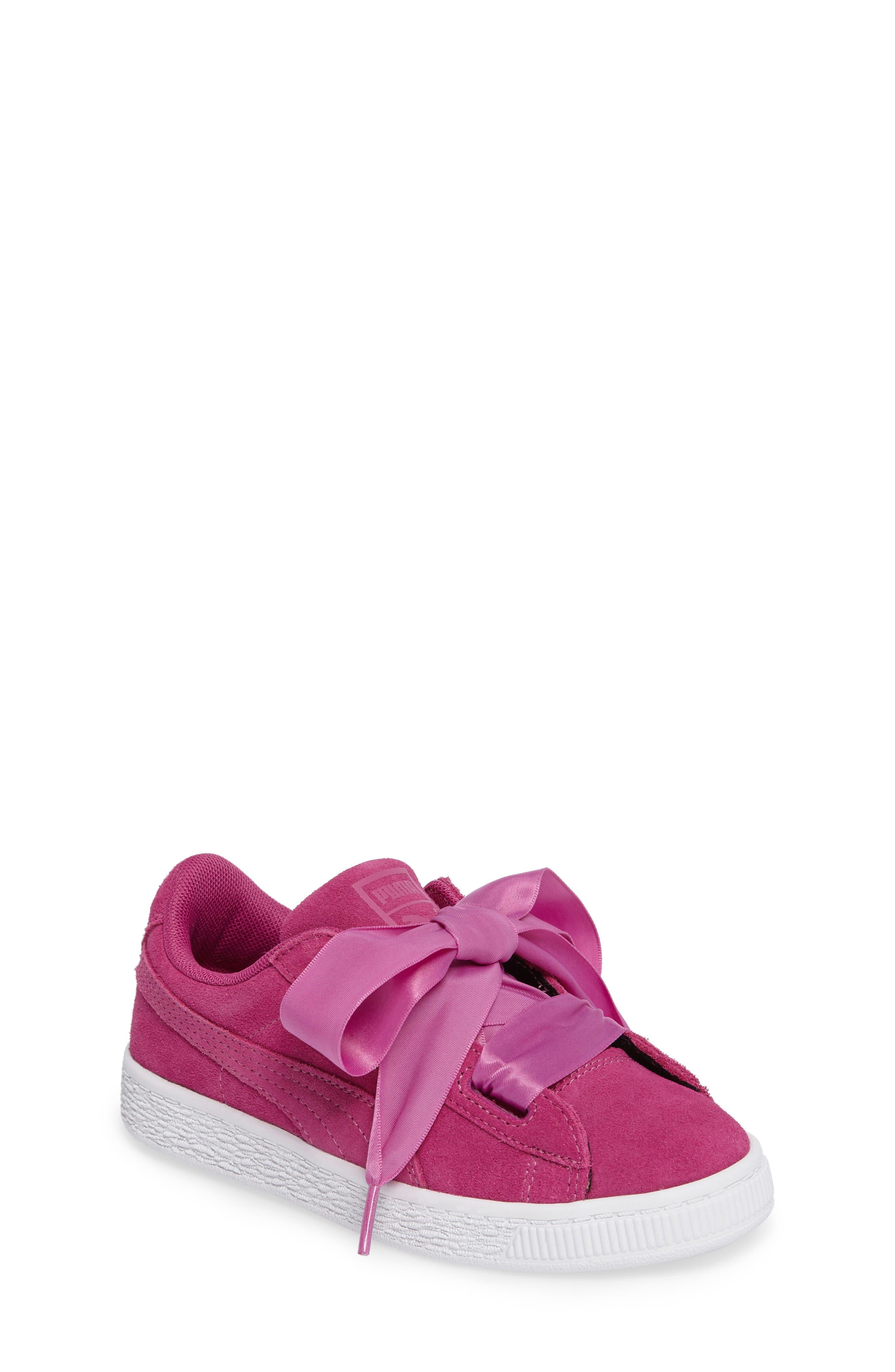 Puma Hearts Sneaker (Toddler, Little Kid & Big Kid)