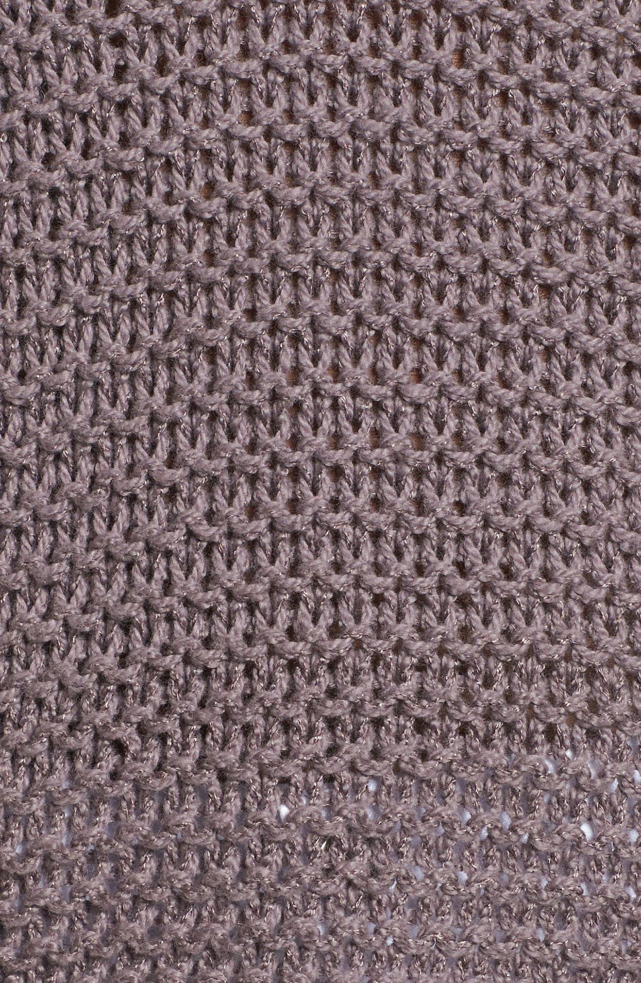 Hillary Sweater,                             Alternate thumbnail 5, color,                             Rabbitt