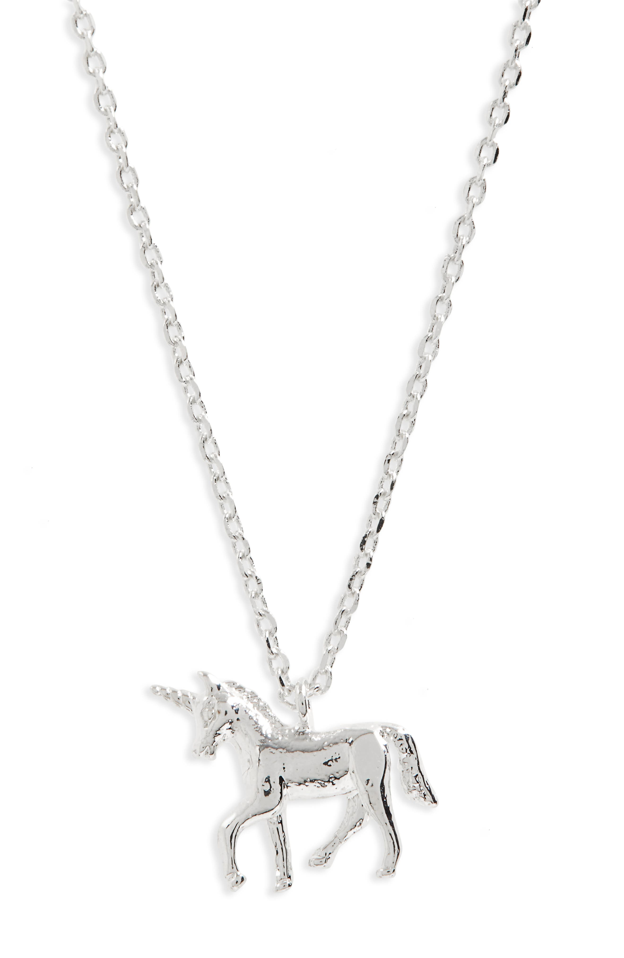 Alternate Image 3  - Estella Bartlett Treasure Me Unicorn Necklace