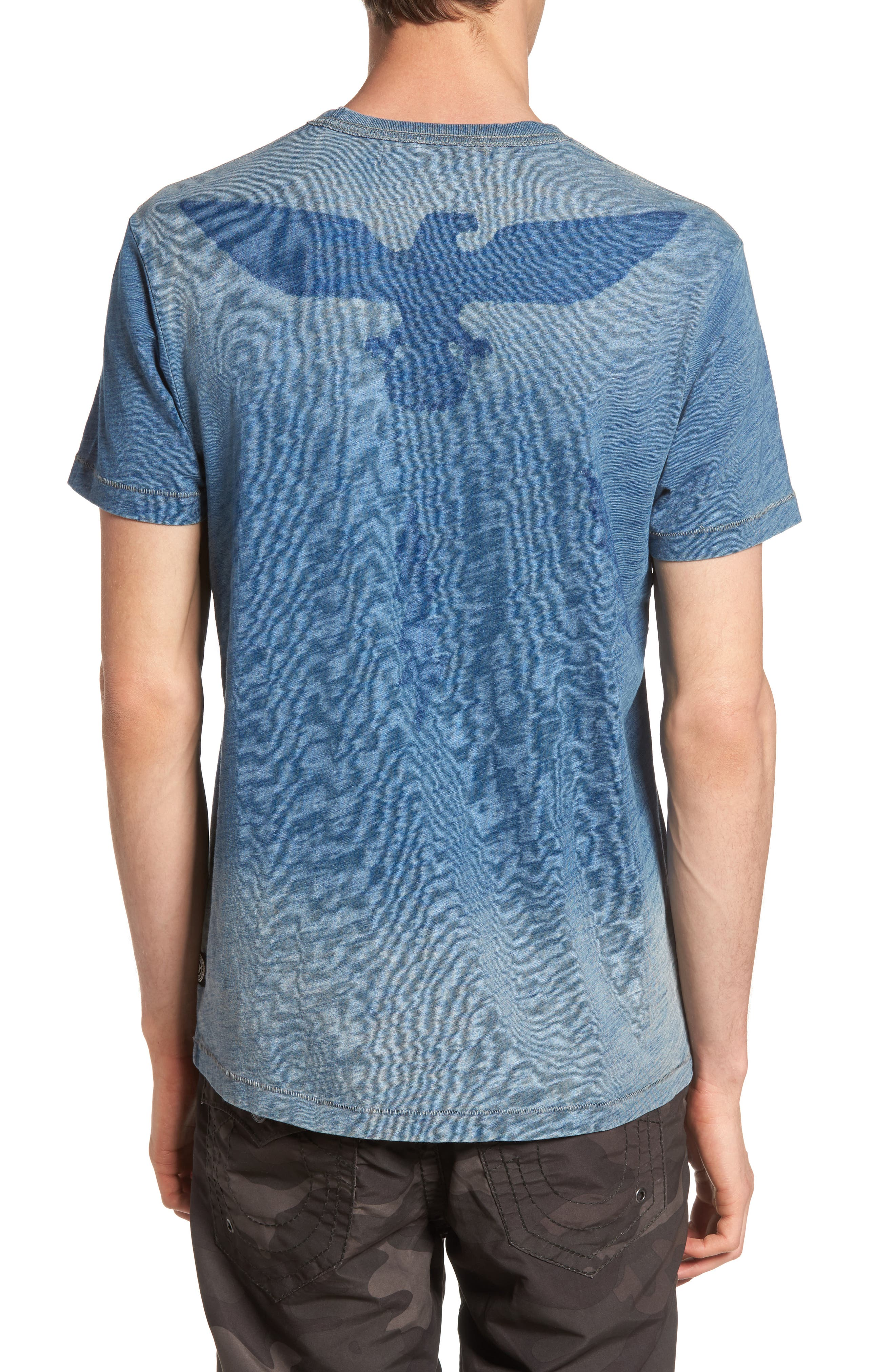 Alternate Image 2  - True Religion Brand Jeans Eagle Shadow T-Shirt