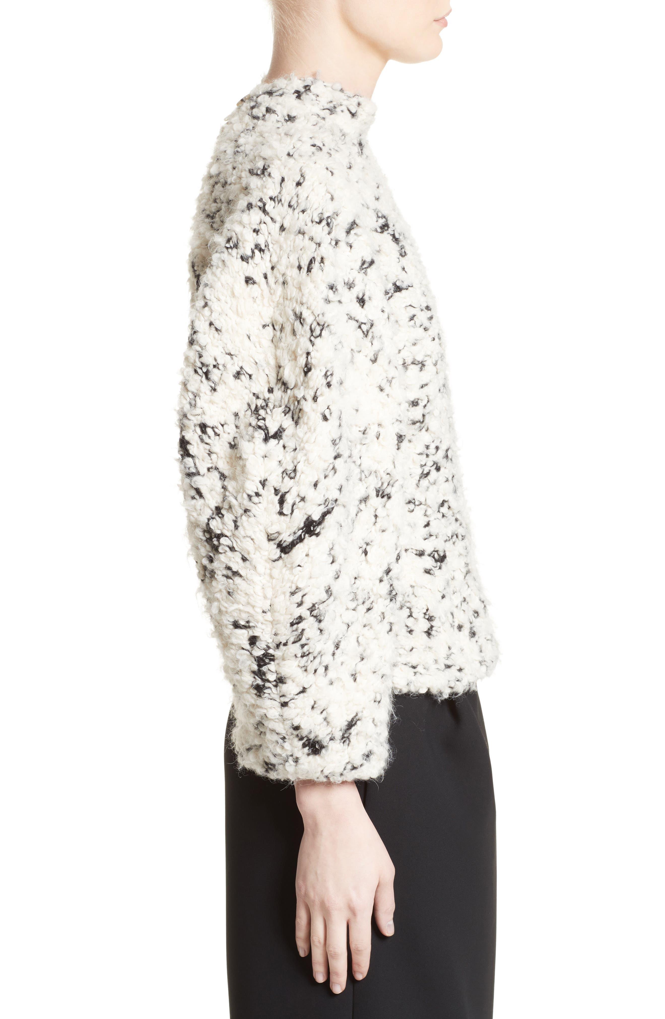 Alternate Image 3  - A.W.A.K.E. Textured Mock Neck Sweater