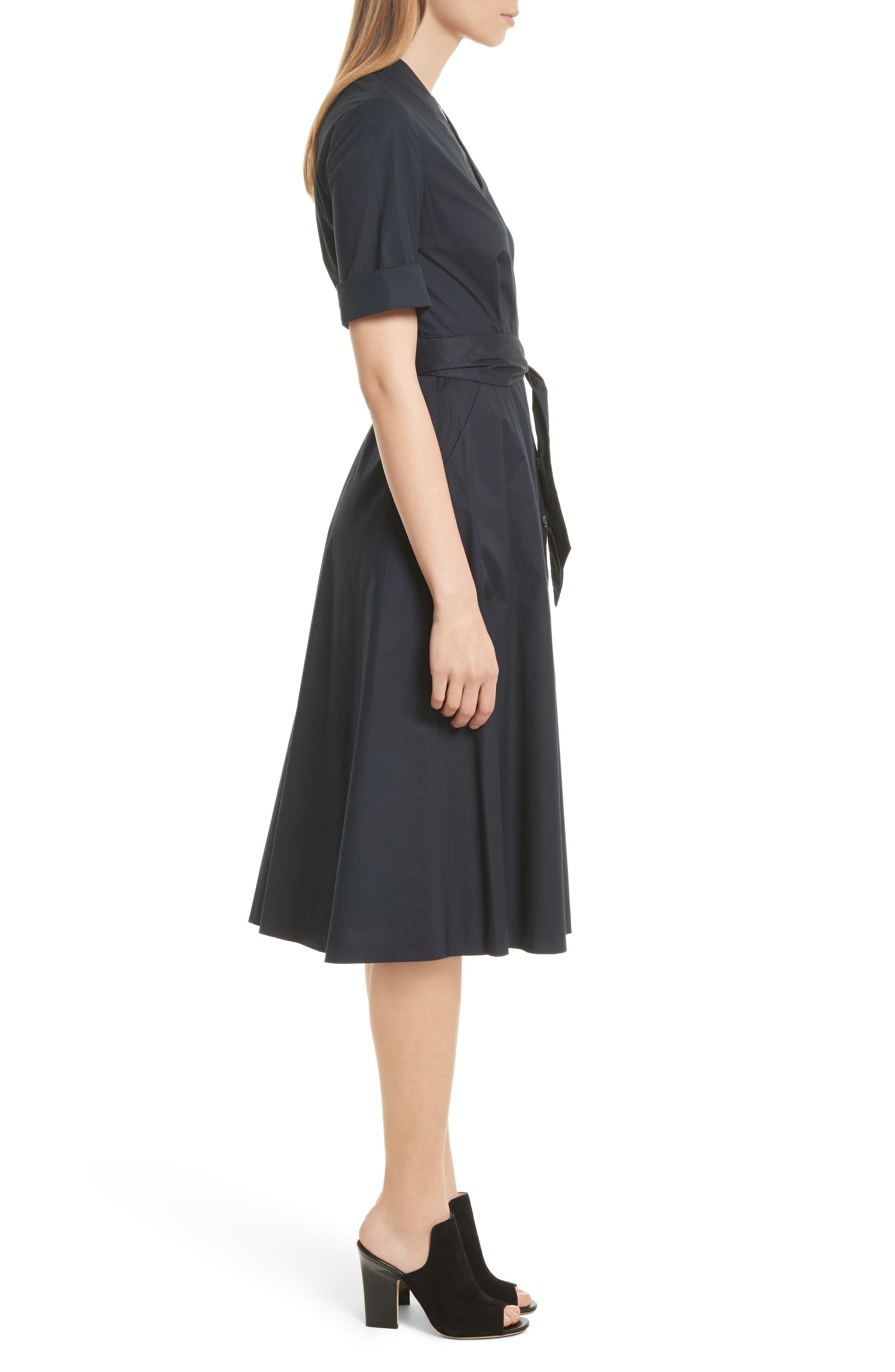 Alternate Image 3  - SALONI Mae B Wrap Shirtdress